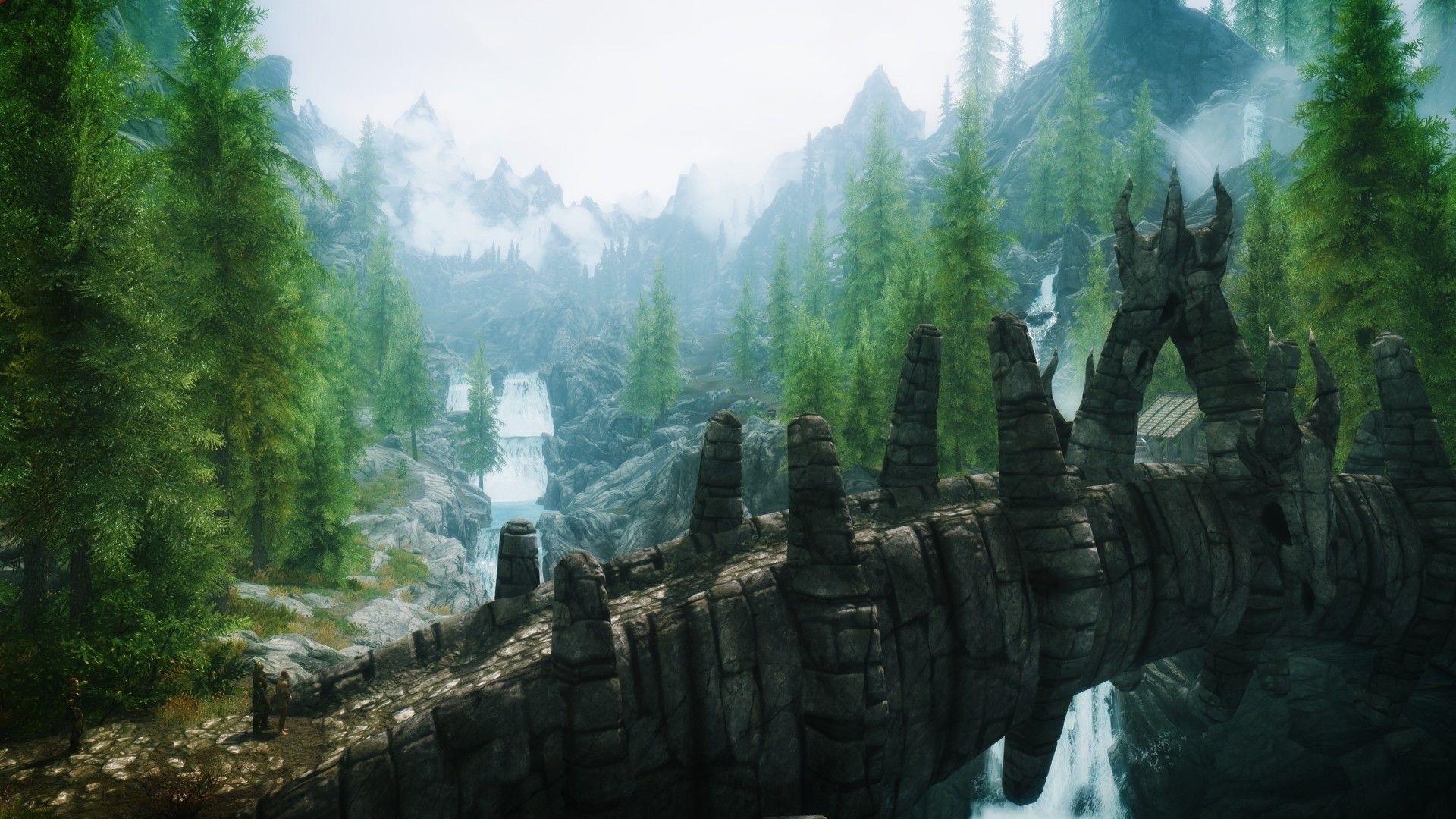 Elder Scrolls hd desktop wallpaper