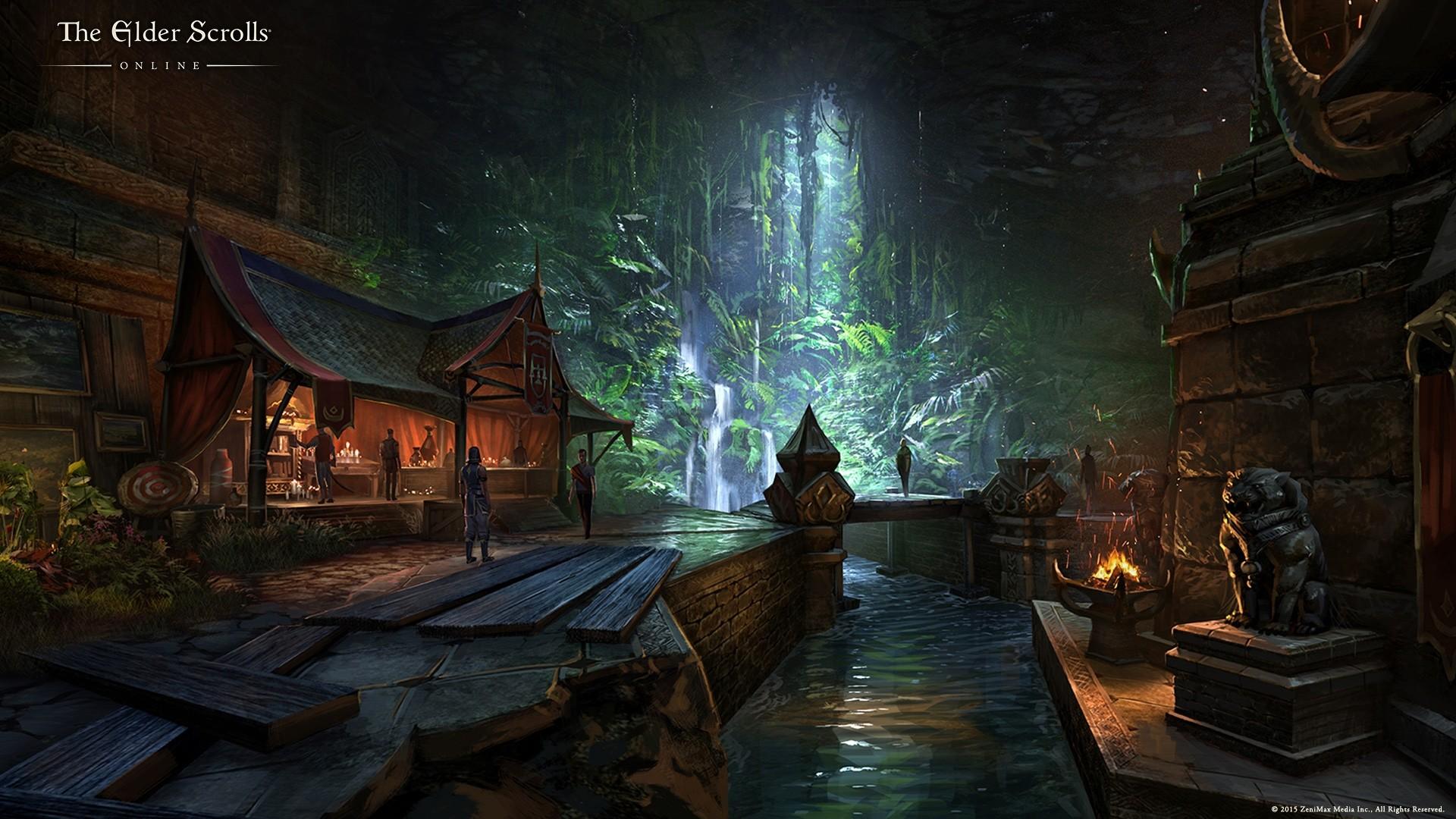 Elder Scrolls Wallpaper theme