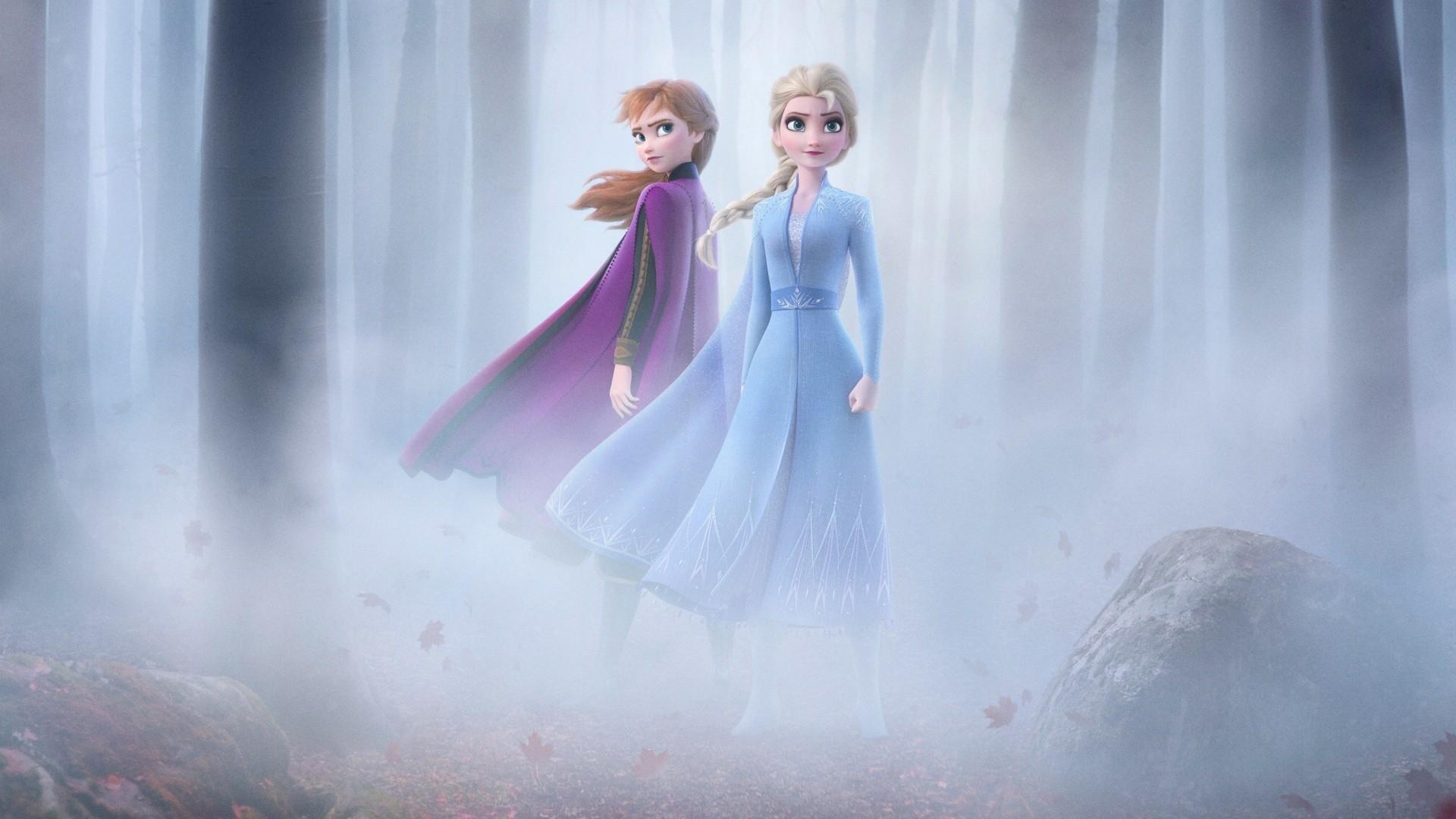 Frozen 2 Background Wallpaper