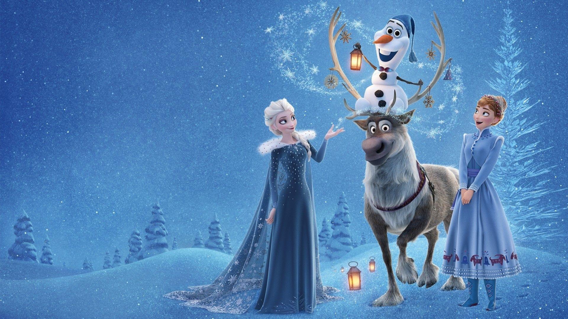 Frozen 2 Desktop Wallpaper