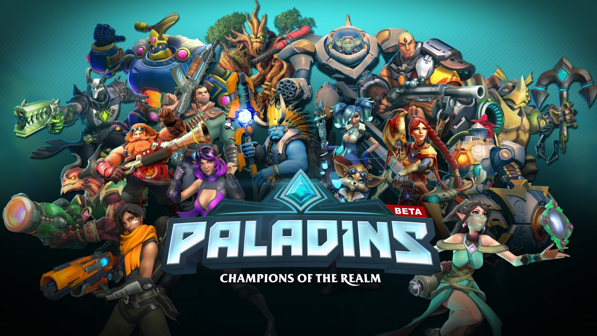 Paladins Free Wallpaper and Background