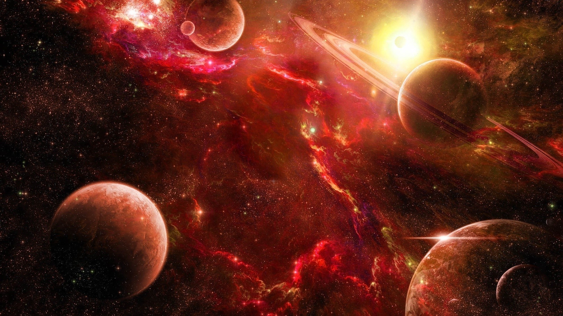 Red Space Image