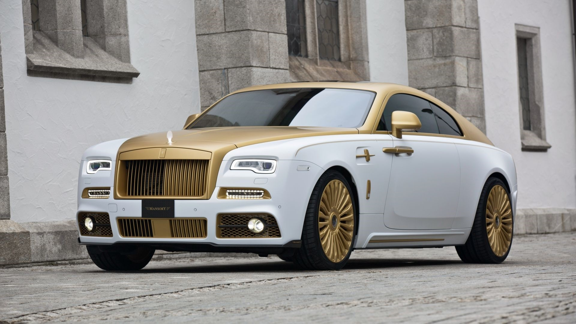 Rolls Royce Wraith Background