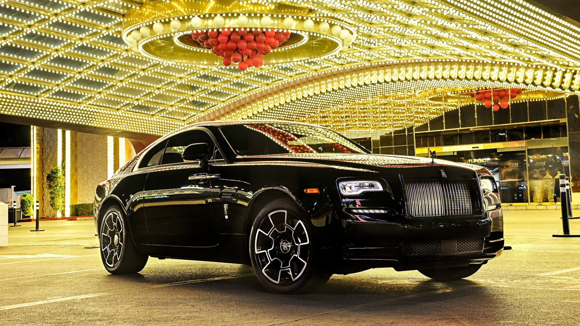 Rolls Royce Wraith Full HD Wallpaper