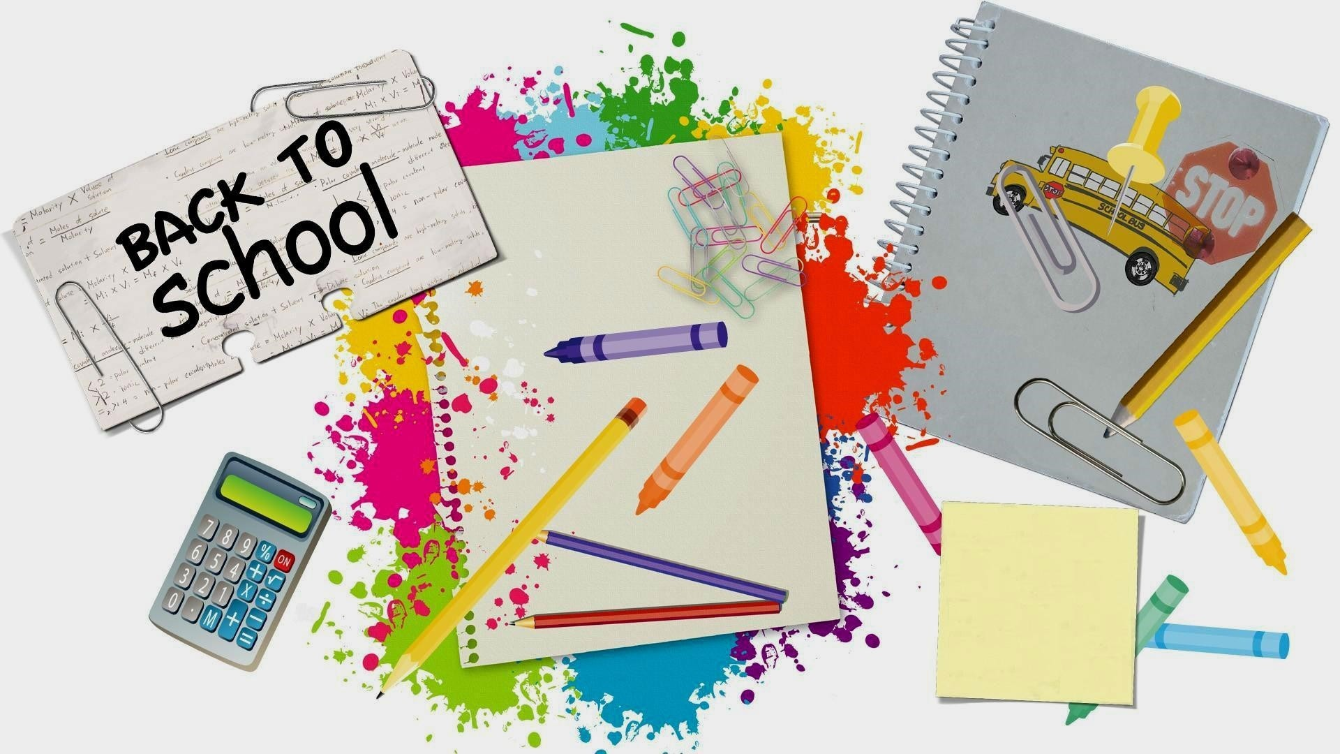 Back To School Wallpaper and Background