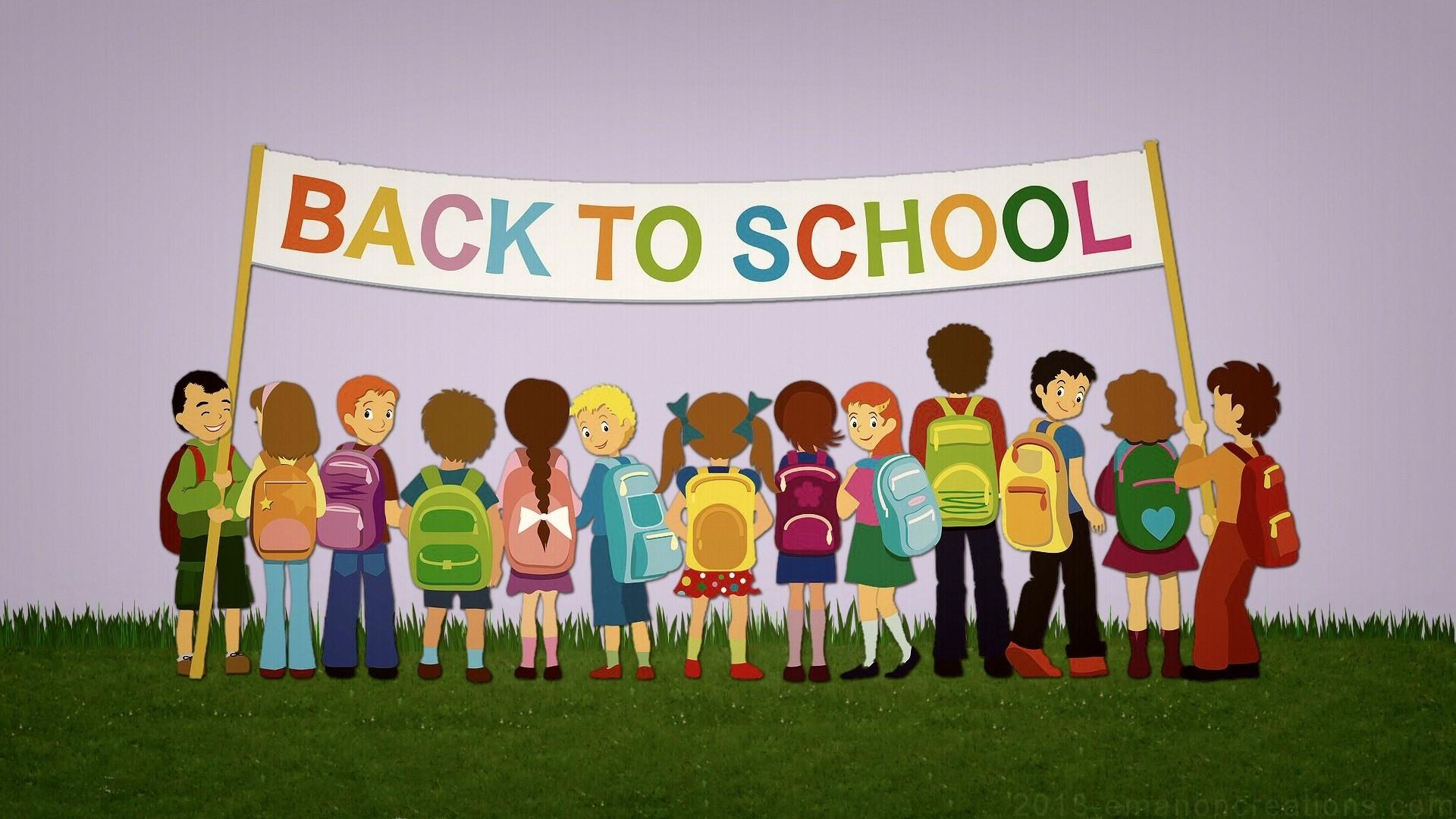 Back To School HD Wallpaper