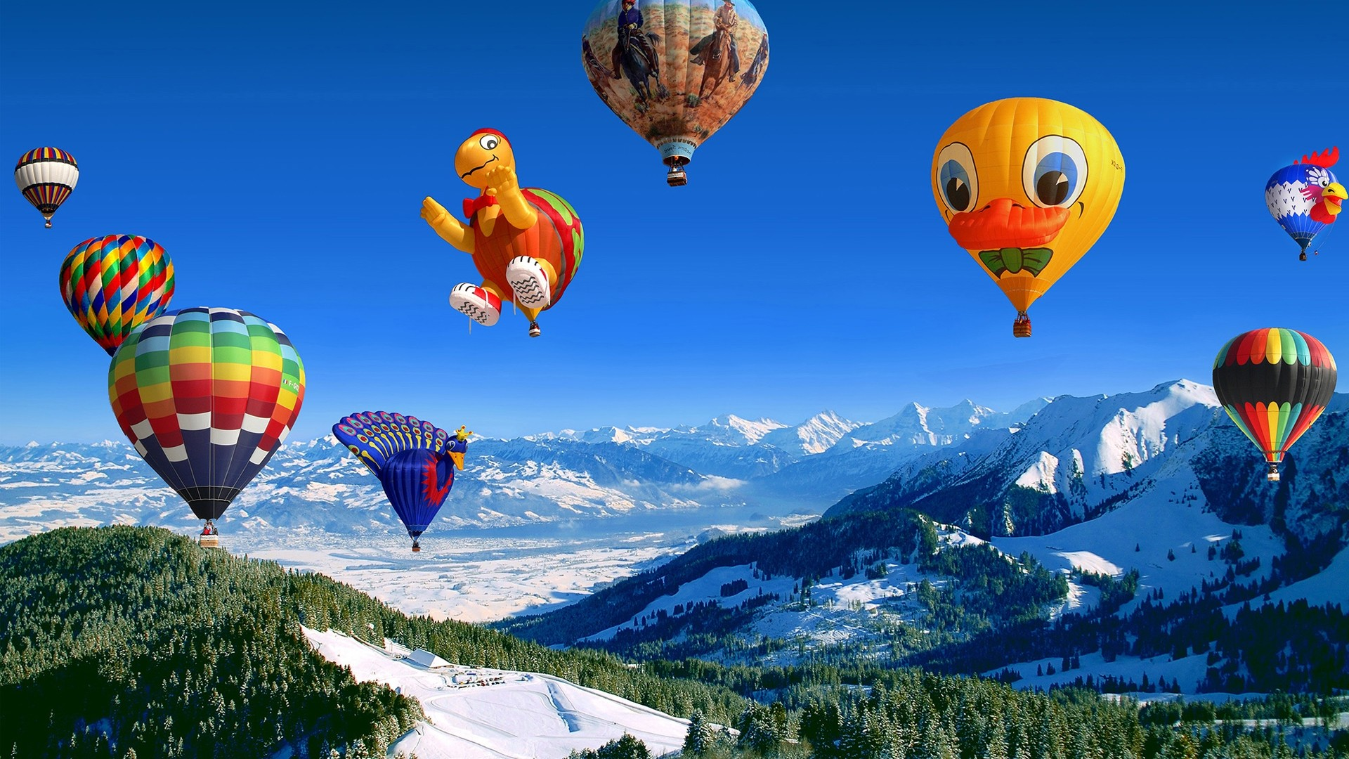 Balloon Wallpaper theme