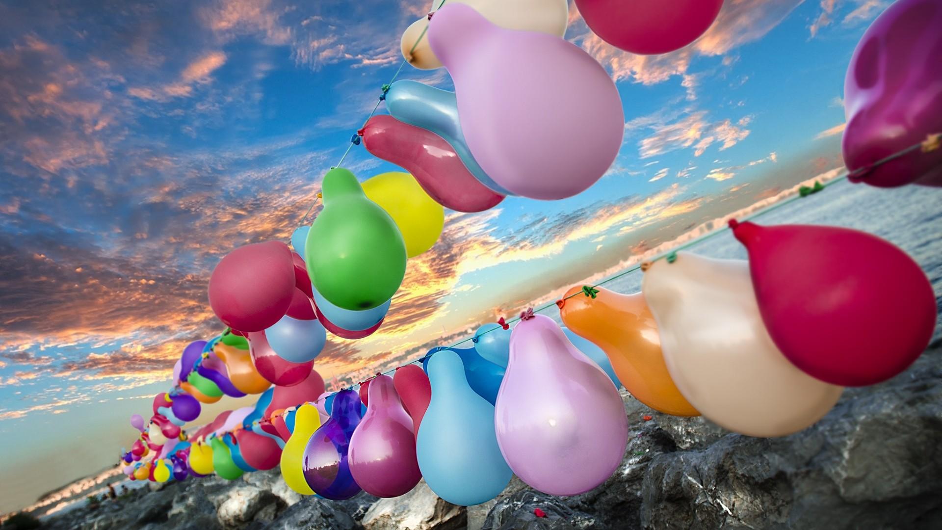 Balloon Full HD Wallpaper