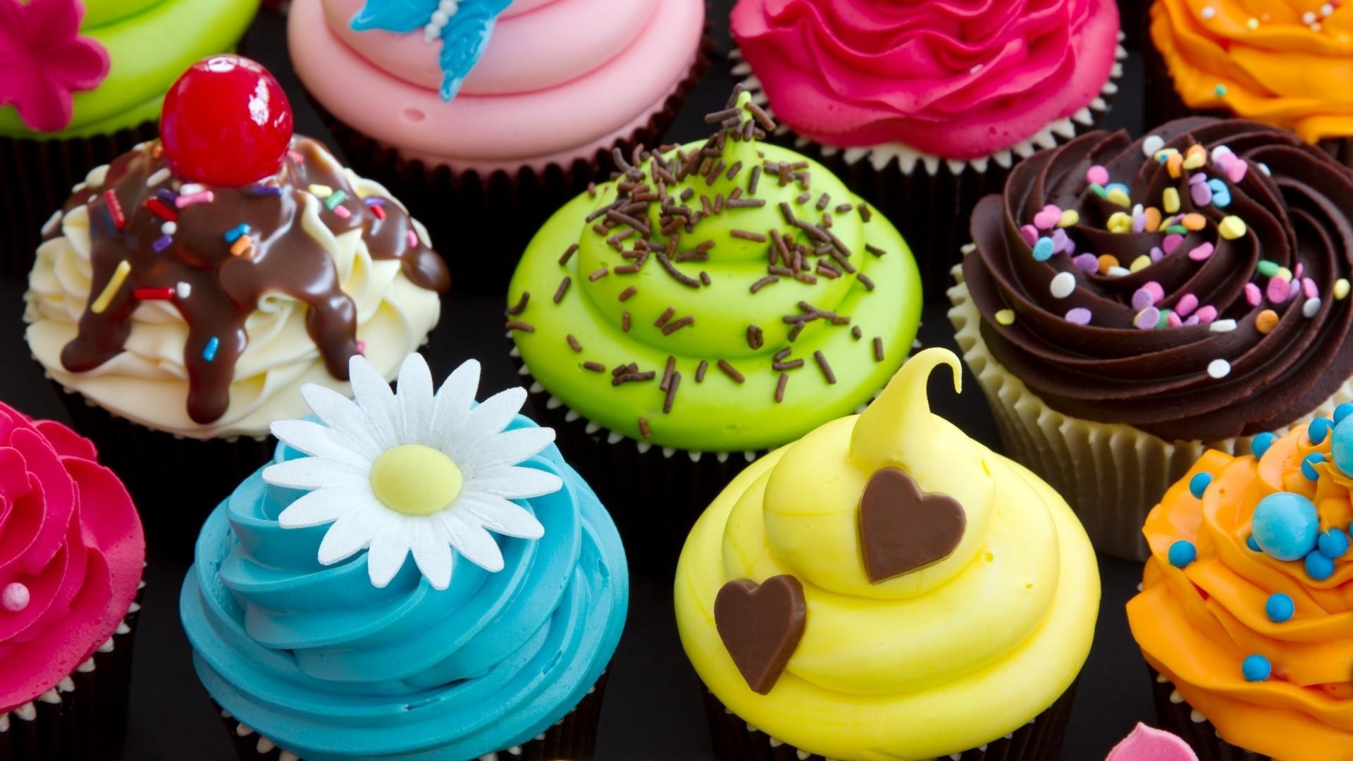 Cupcake Desktop Wallpaper