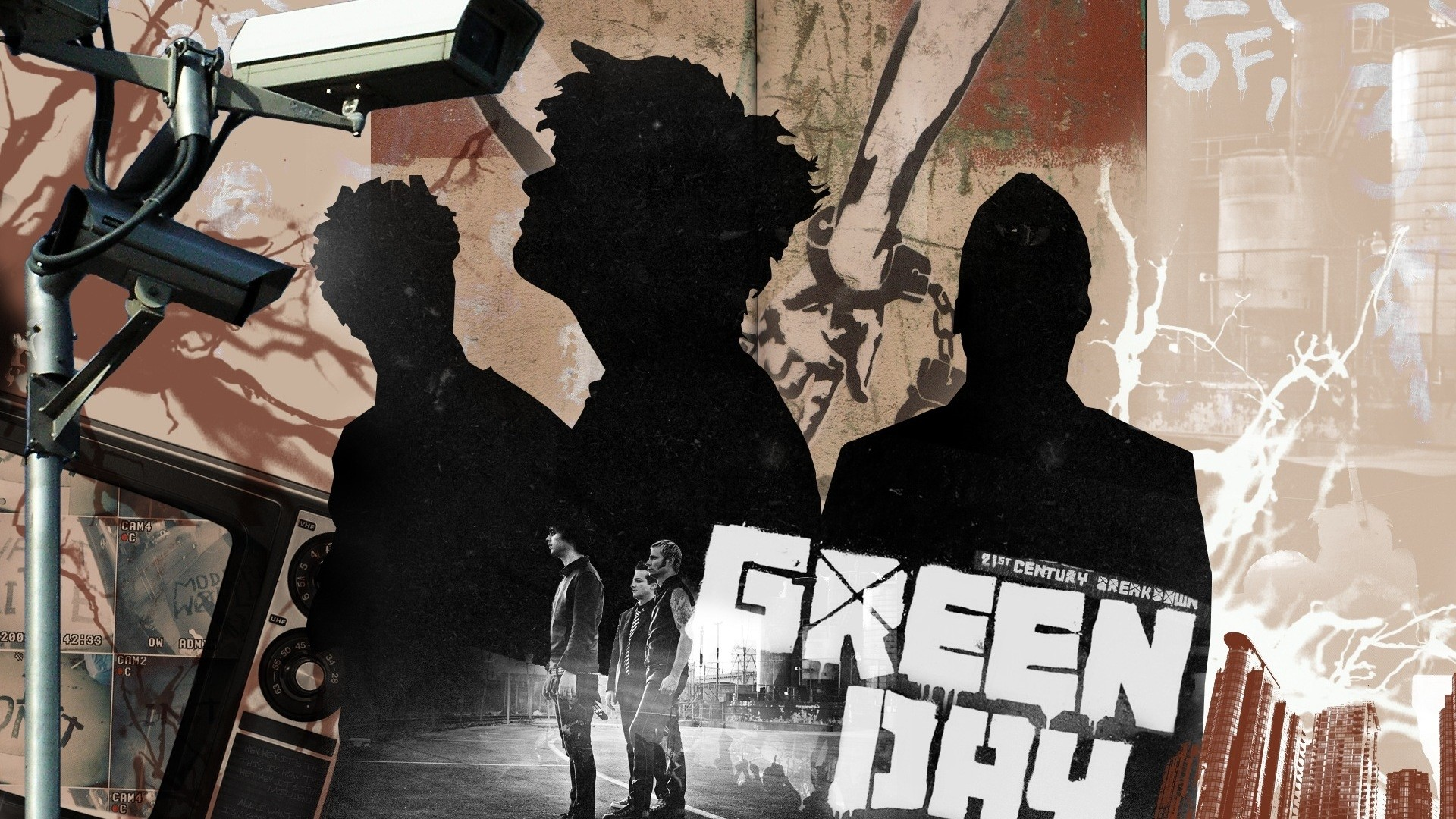 Green Day hd desktop wallpaper