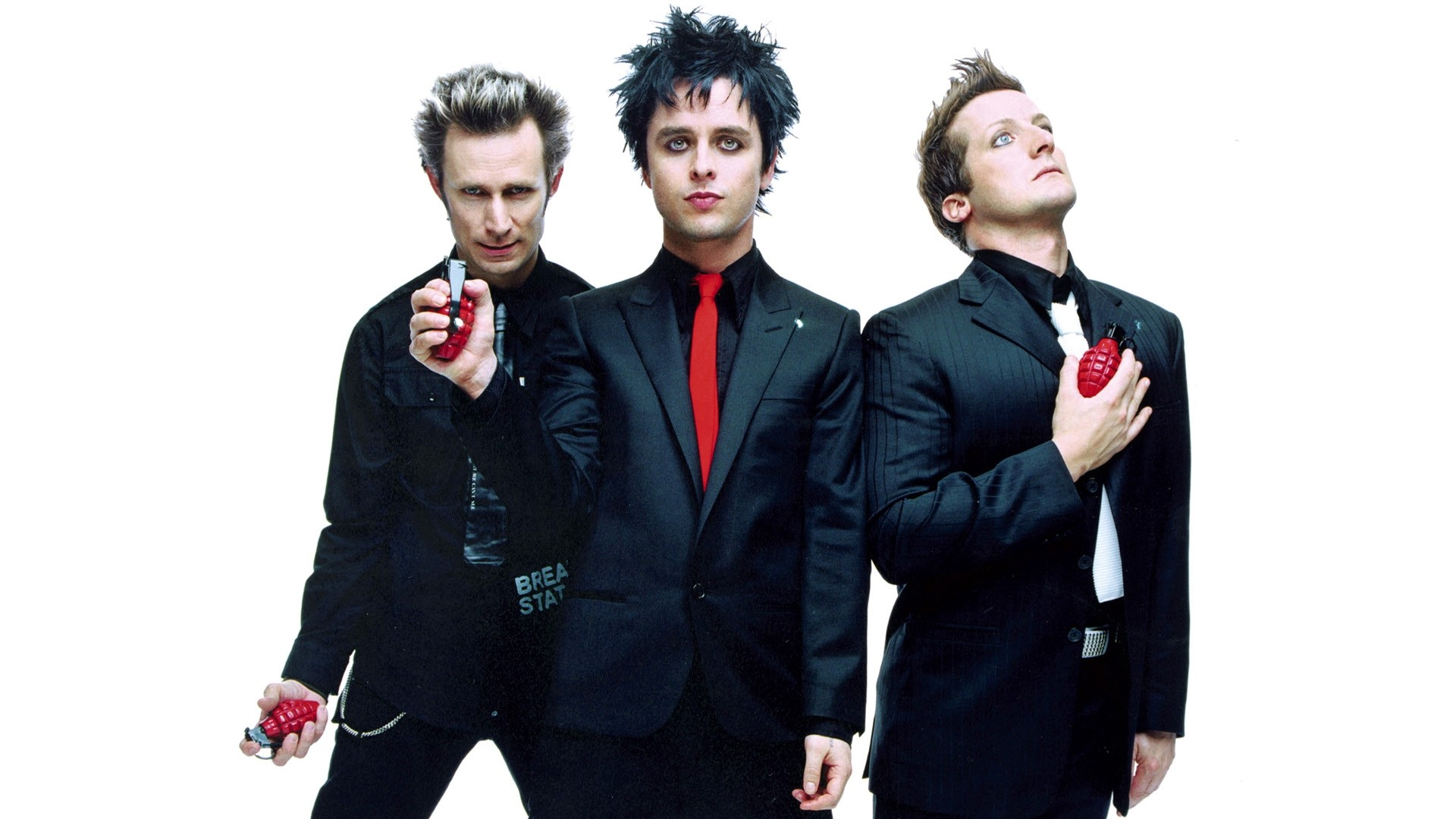 Green Day Background Wallpaper
