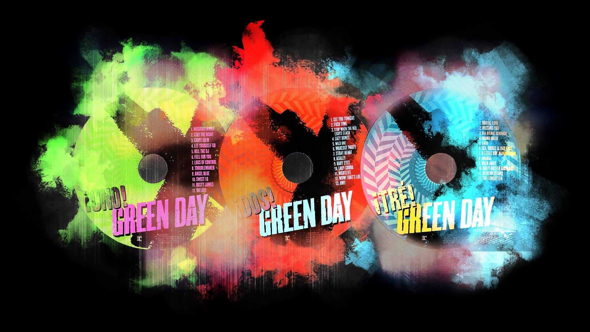 Green Day Desktop Wallpaper