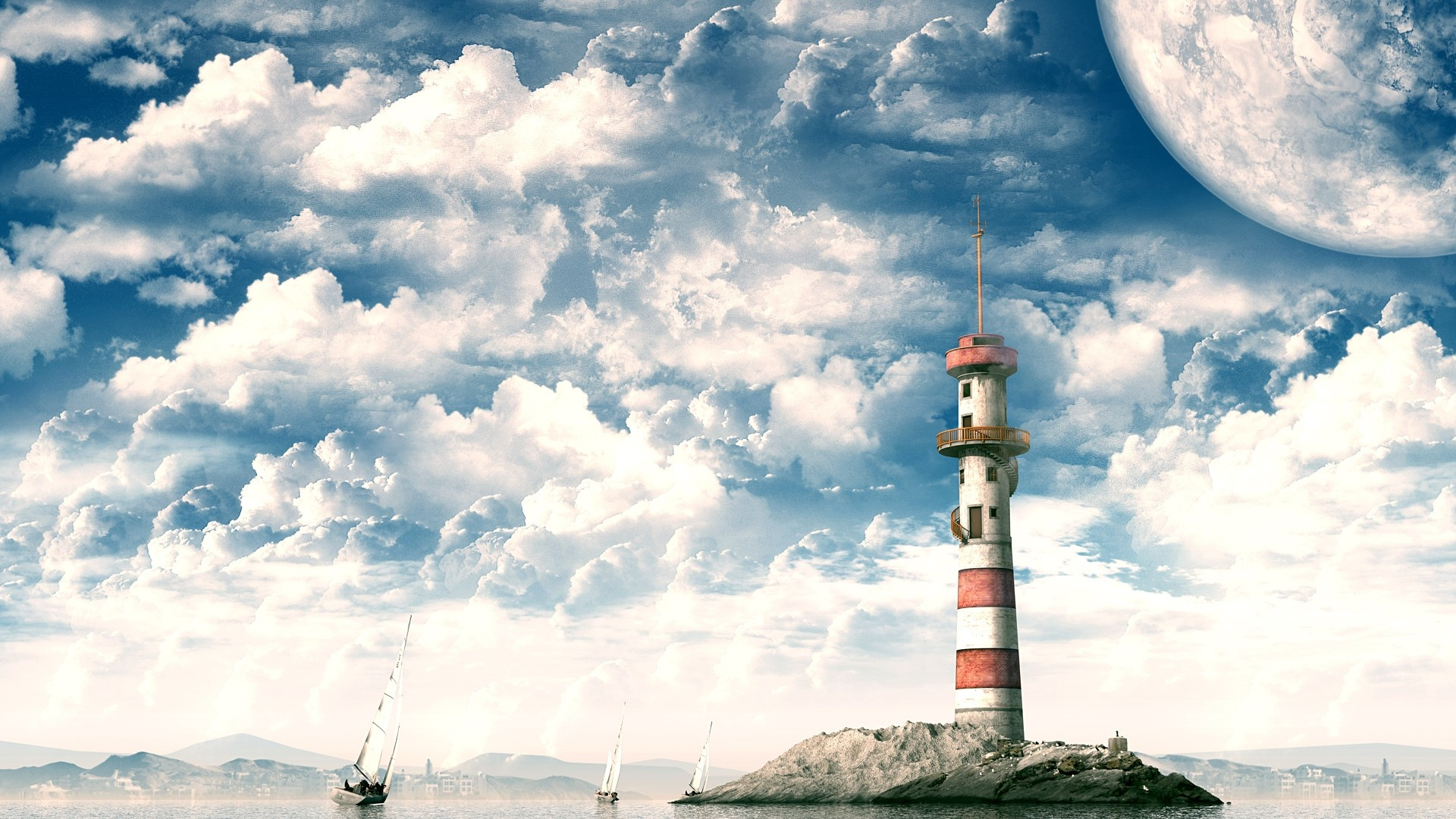 Lighthouse Full HD Wallpaper