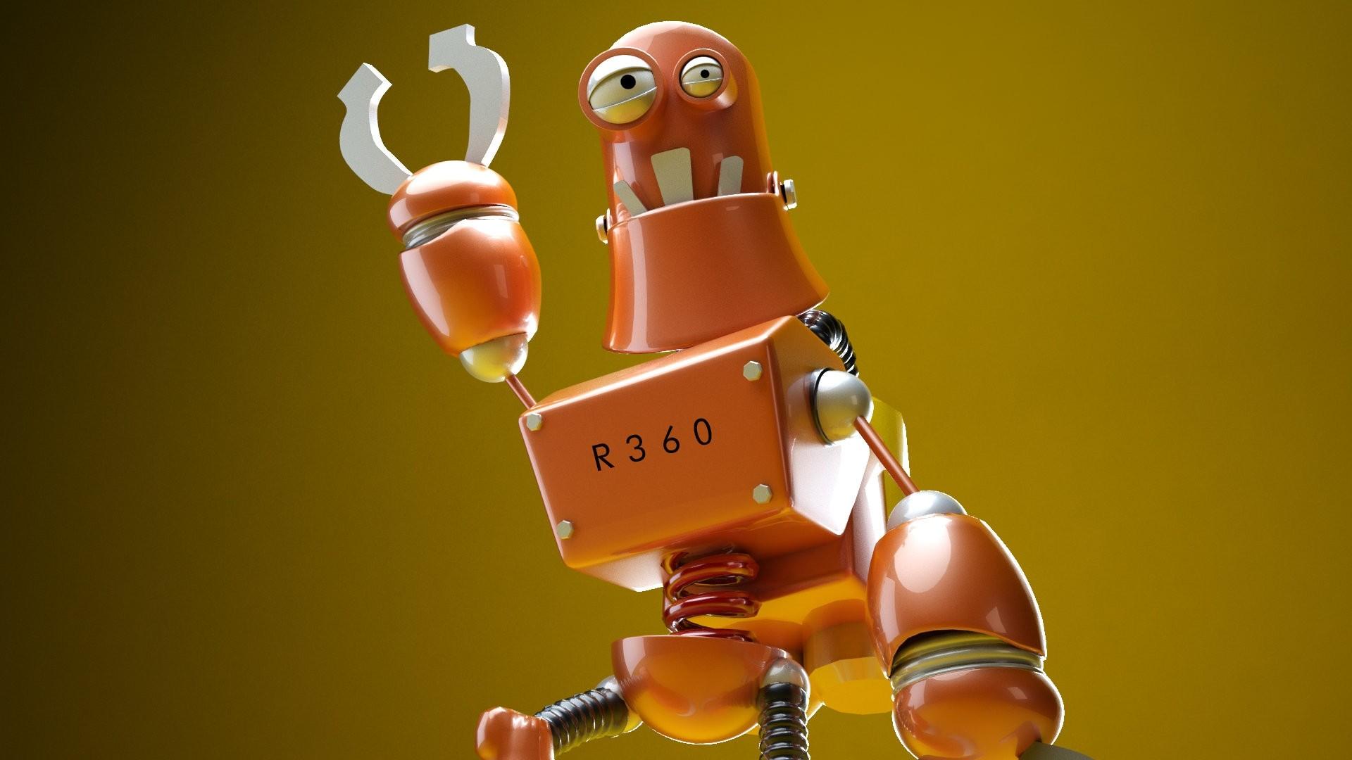 Robot Desktop wallpaper