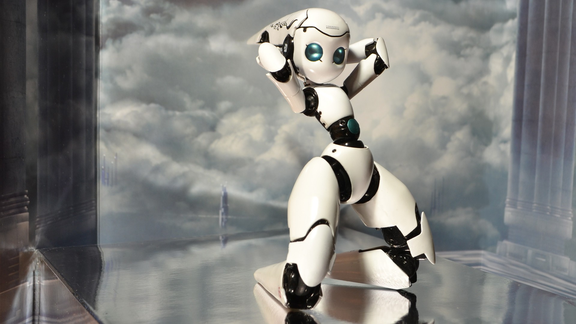 Robot Wallpaper theme