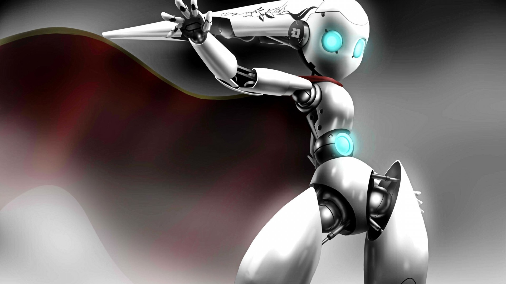 Robot HD Wallpaper