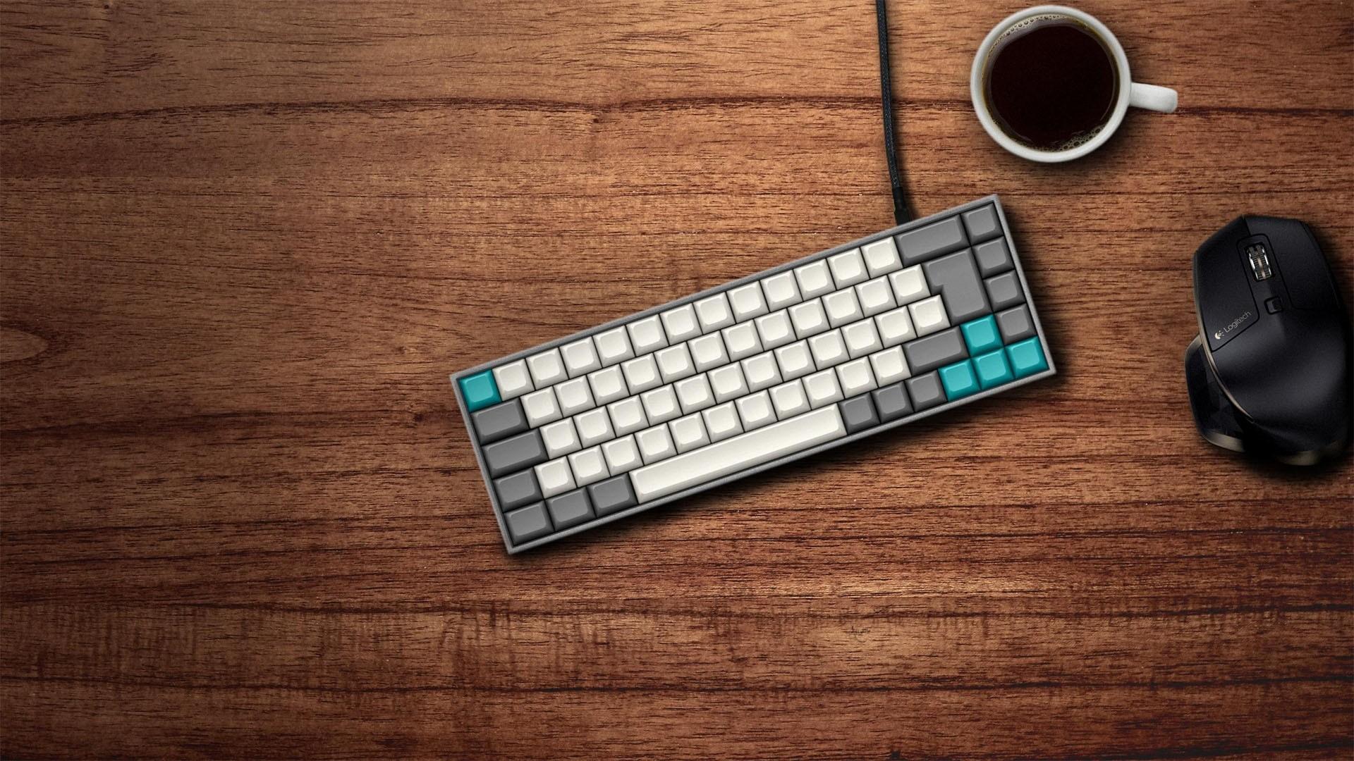 Keyboard computer wallpaper