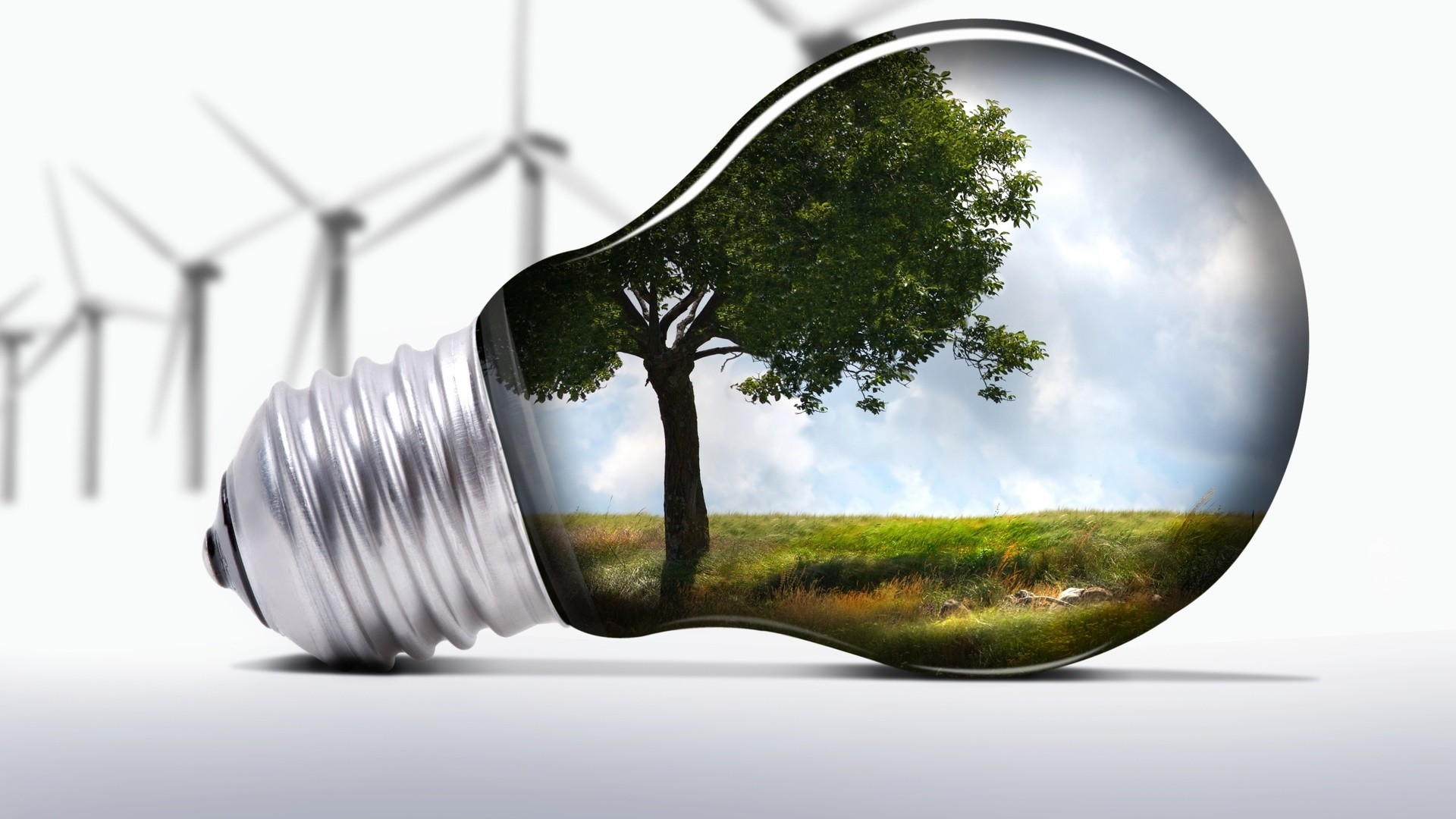 Energy Saving Desktop Wallpaper