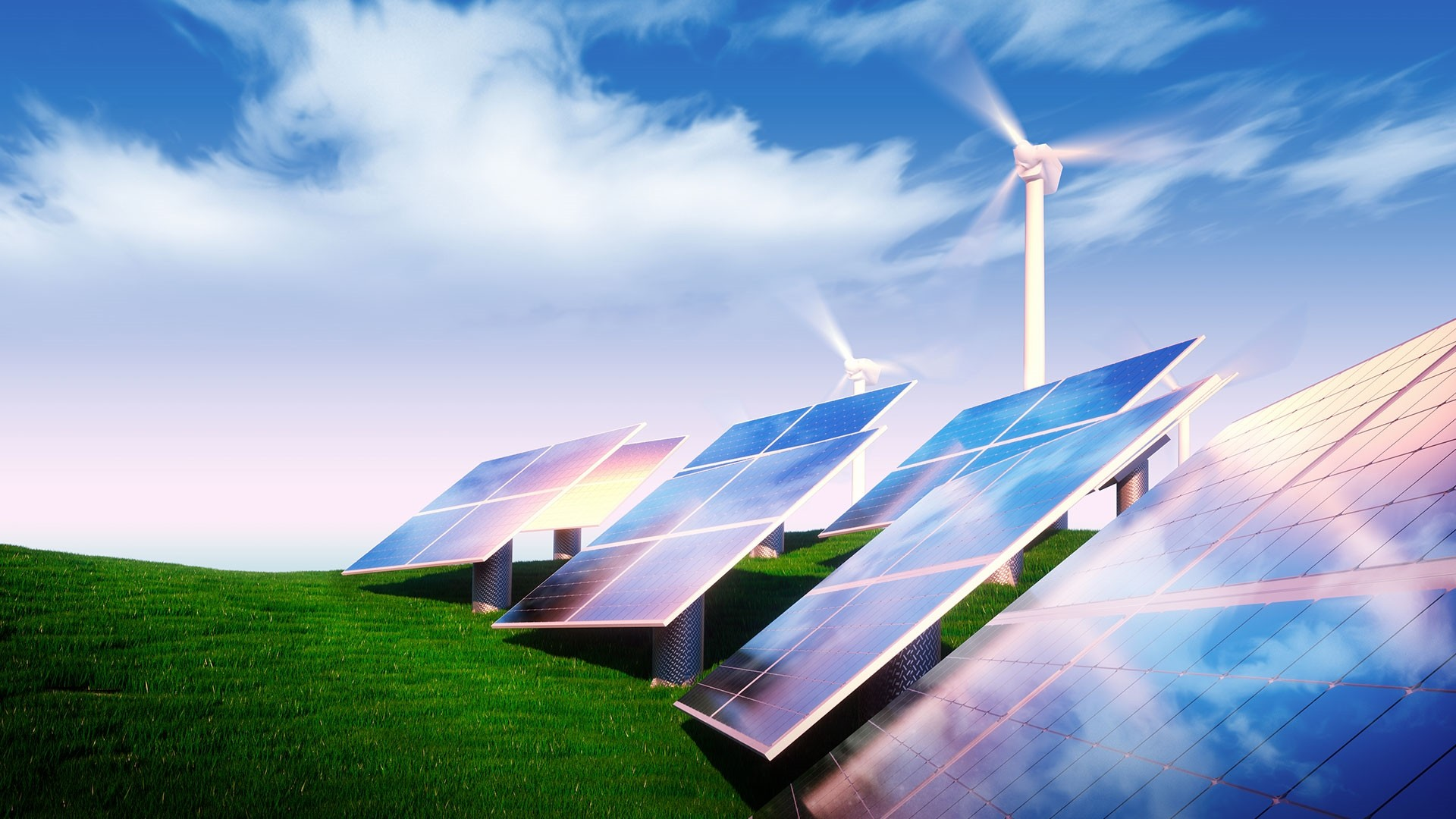Energy Saving Free Wallpaper