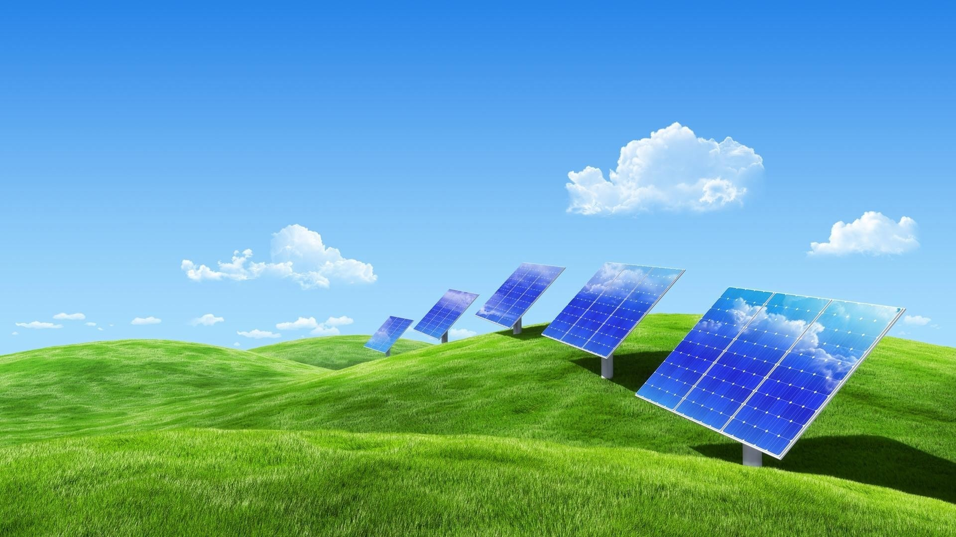 Energy Saving Wallpaper theme