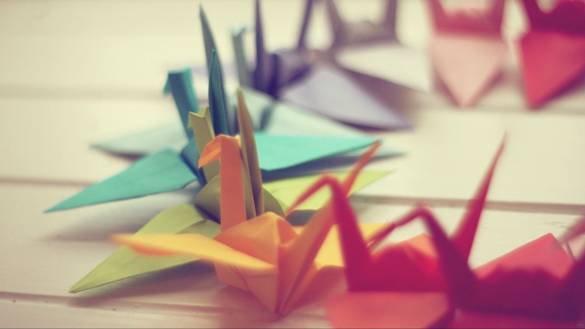 Cute Origami Wallpaper and Background