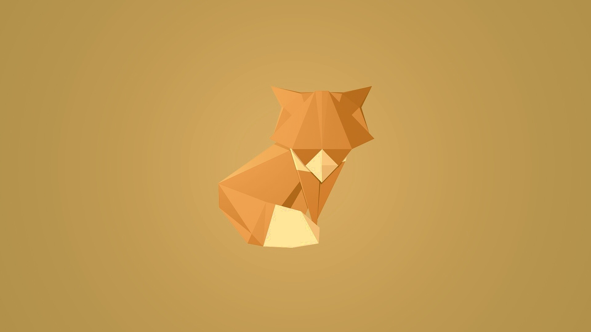 Cute Origami Wallpaper theme