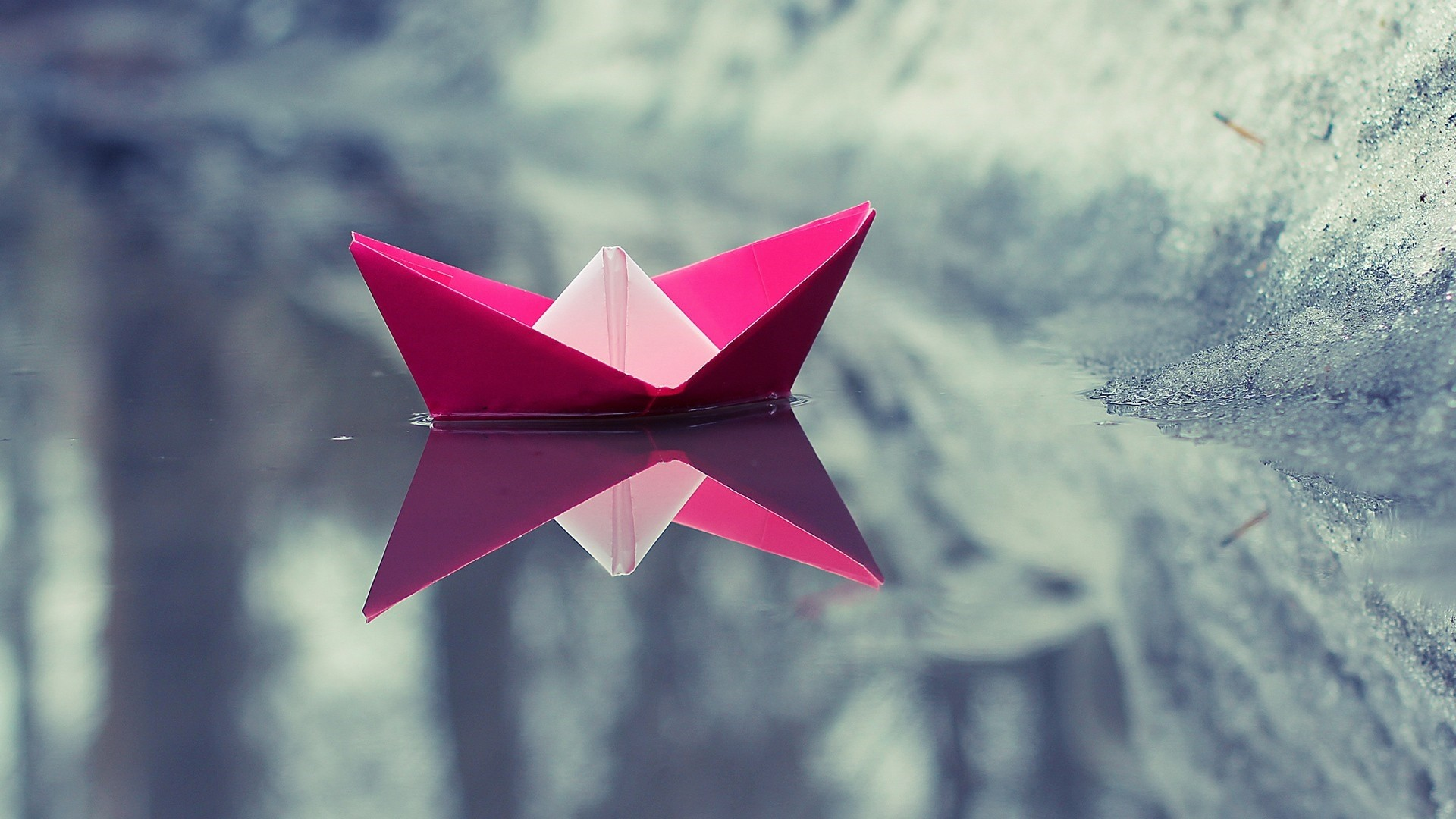 Cute Origami PC Wallpaper HD
