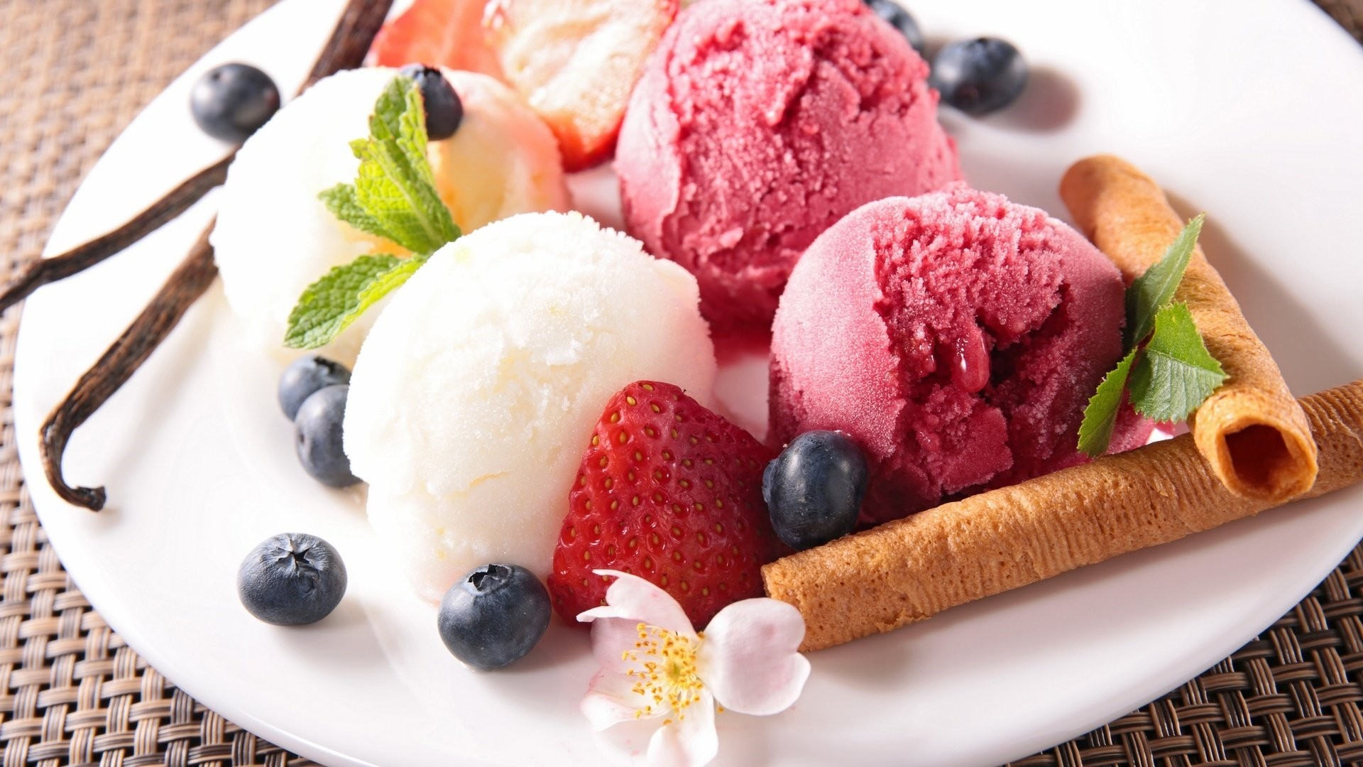Dessert Ice Cream Wallpaper image hd