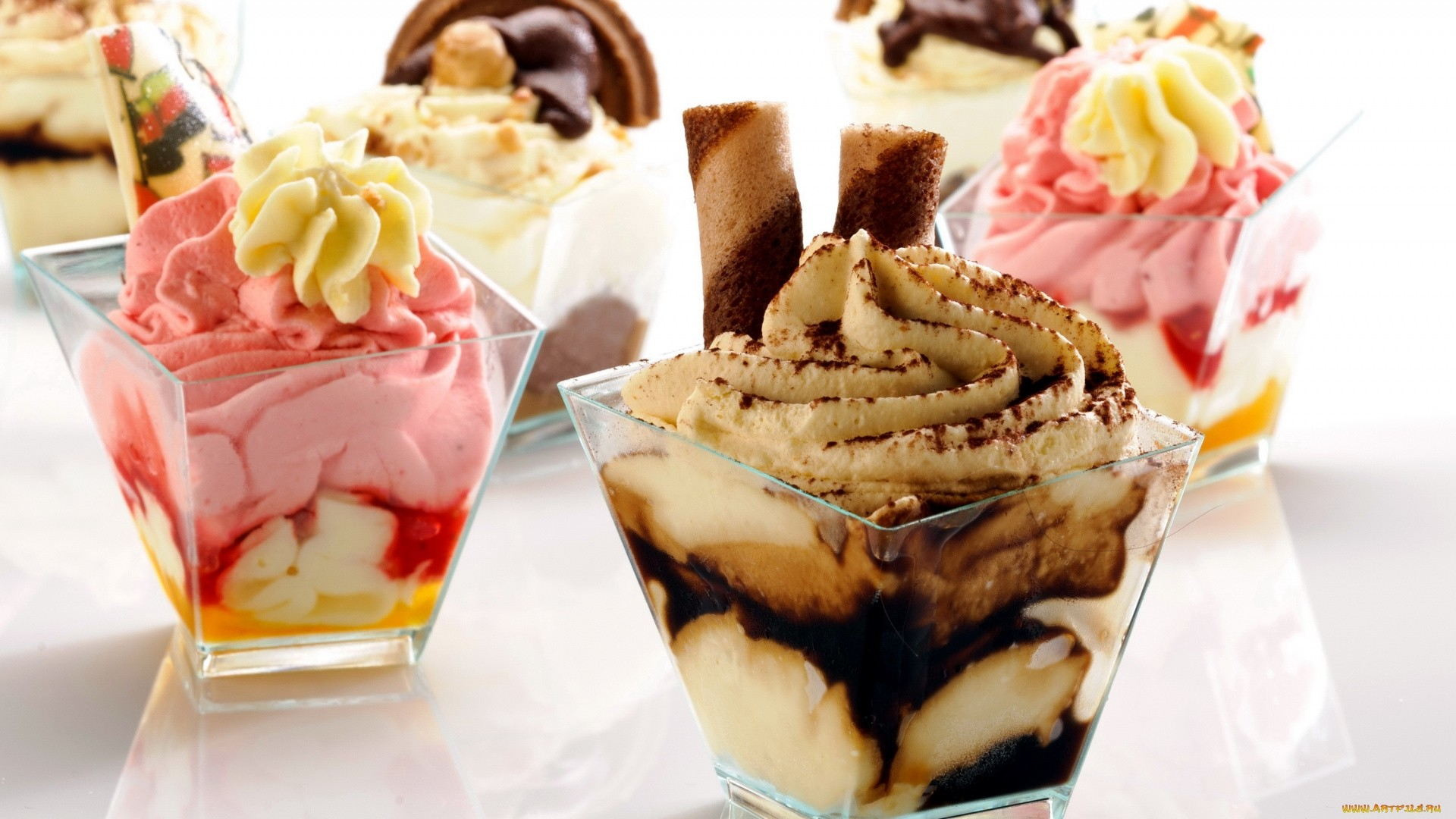 Dessert Ice Cream Wallpaper