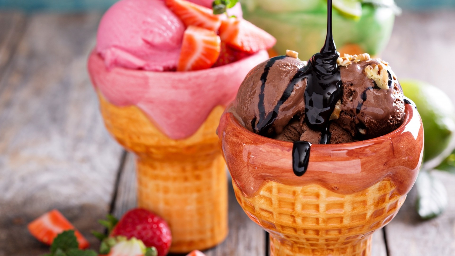 Dessert Ice Cream Free Wallpaper