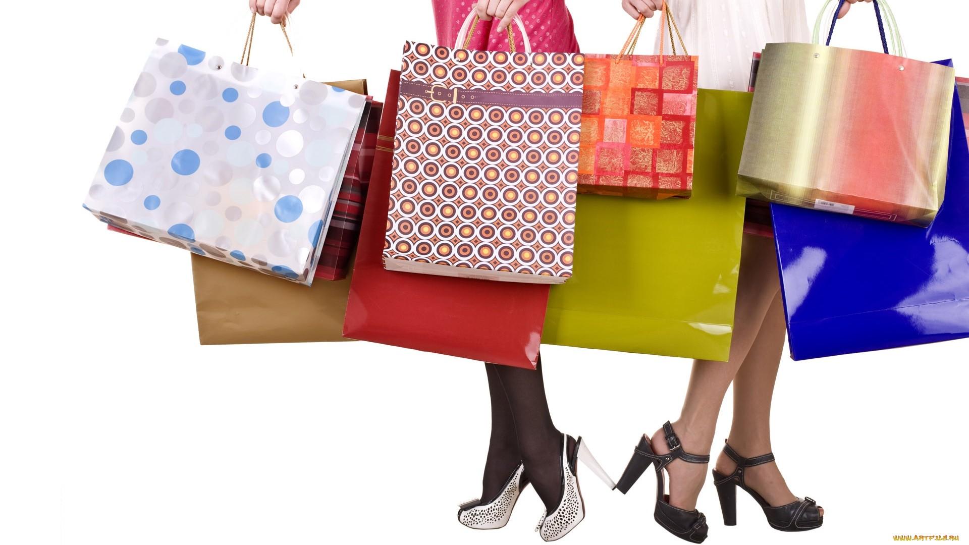 Shopping wallpaper