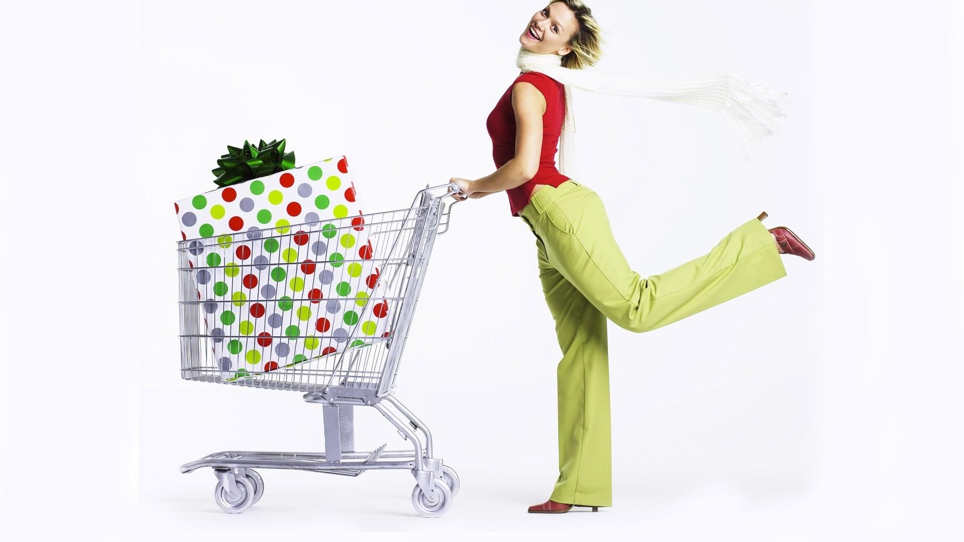 Shopping Free Wallpaper