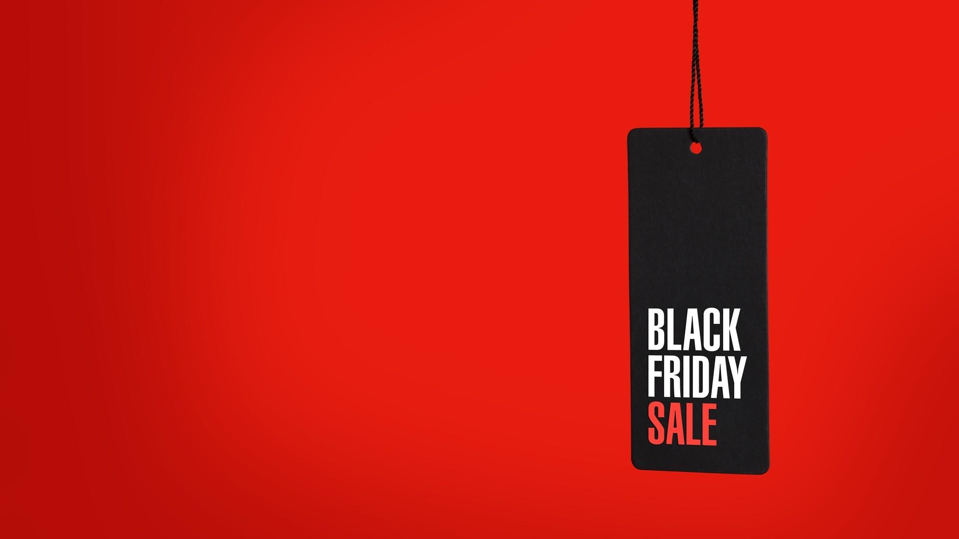 Black Friday computer wallpaper