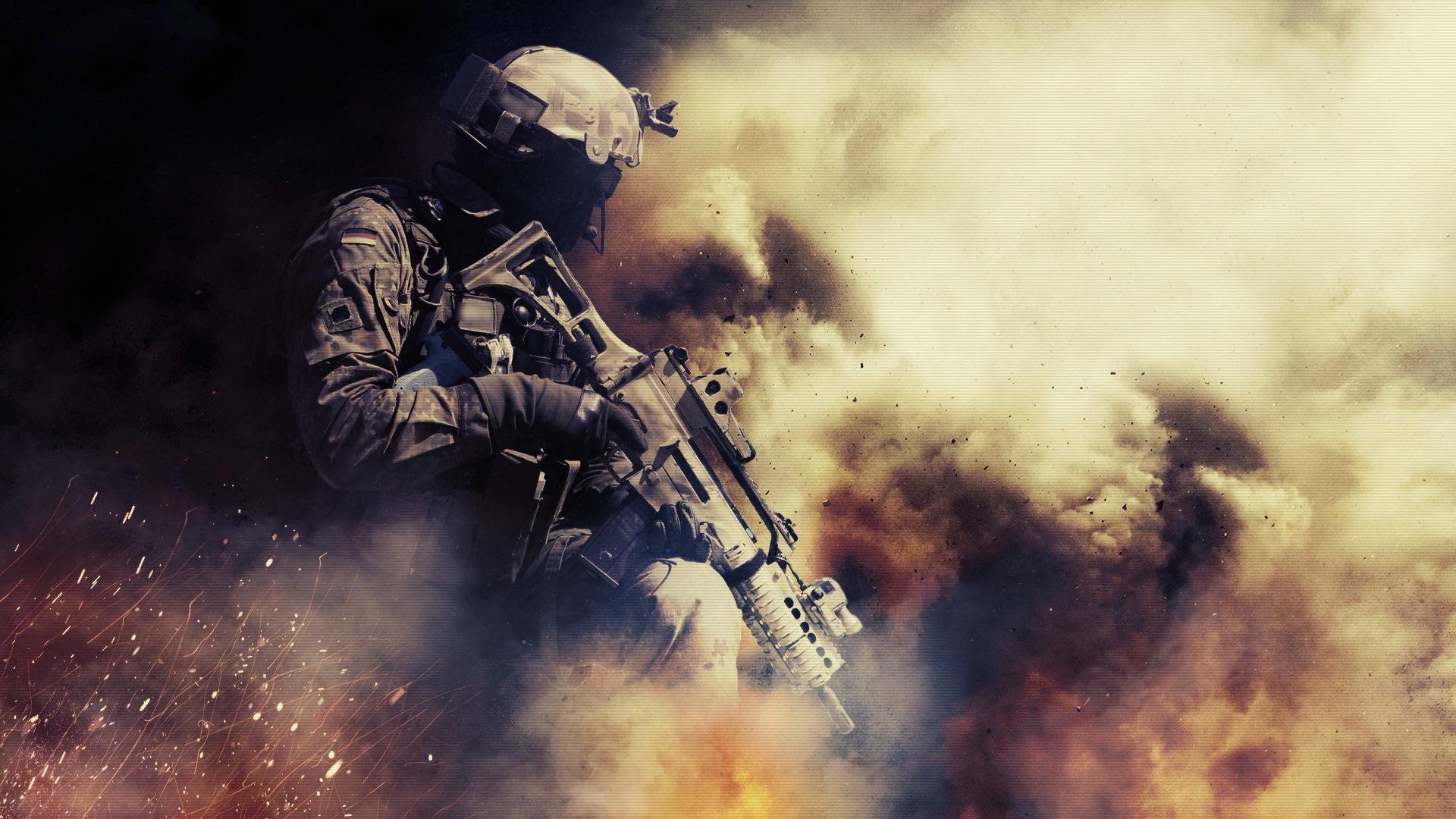 War HD Wallpaper