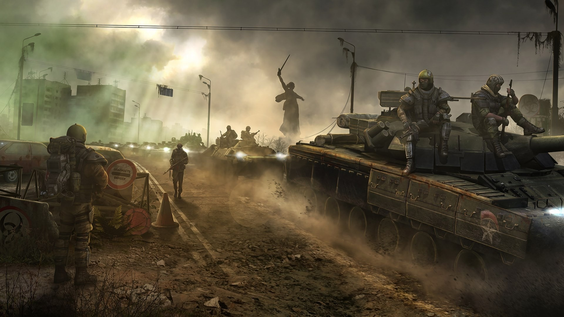 War Wallpaper theme