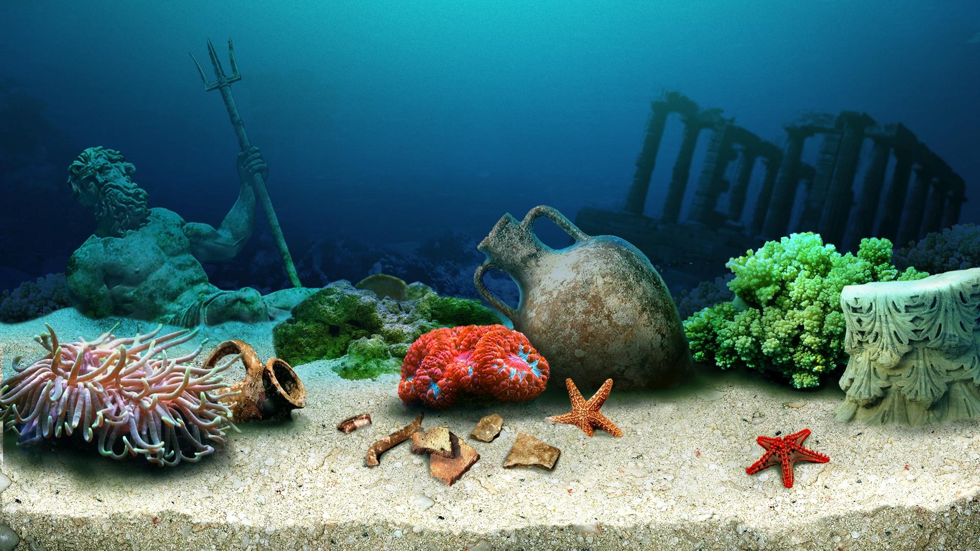 Aquarium PC Wallpaper HD