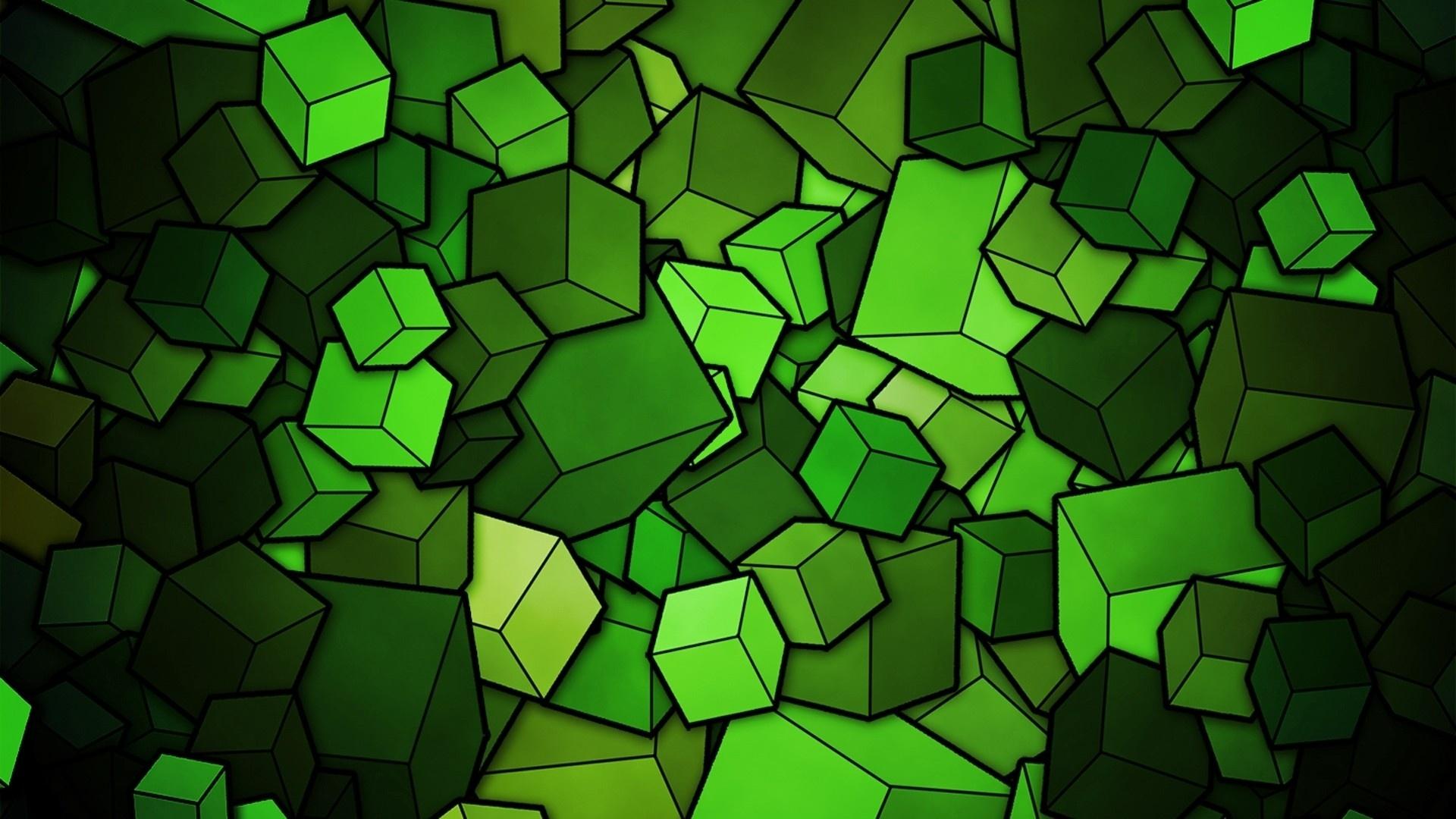 Black And Green Wallpaper