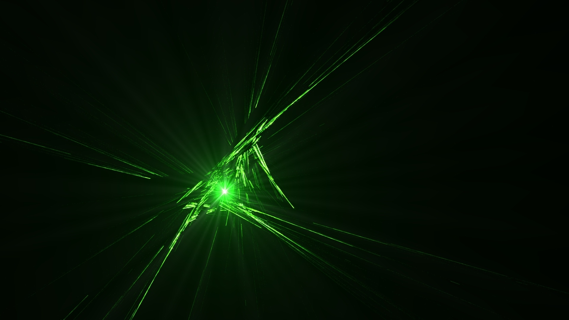 Black And Green PC Wallpaper