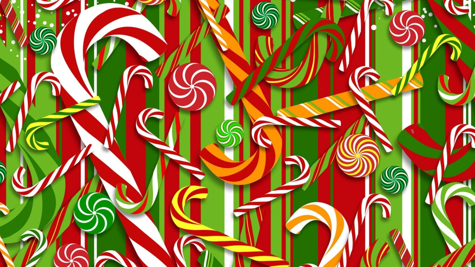 Candy Cane HD Wallpaper