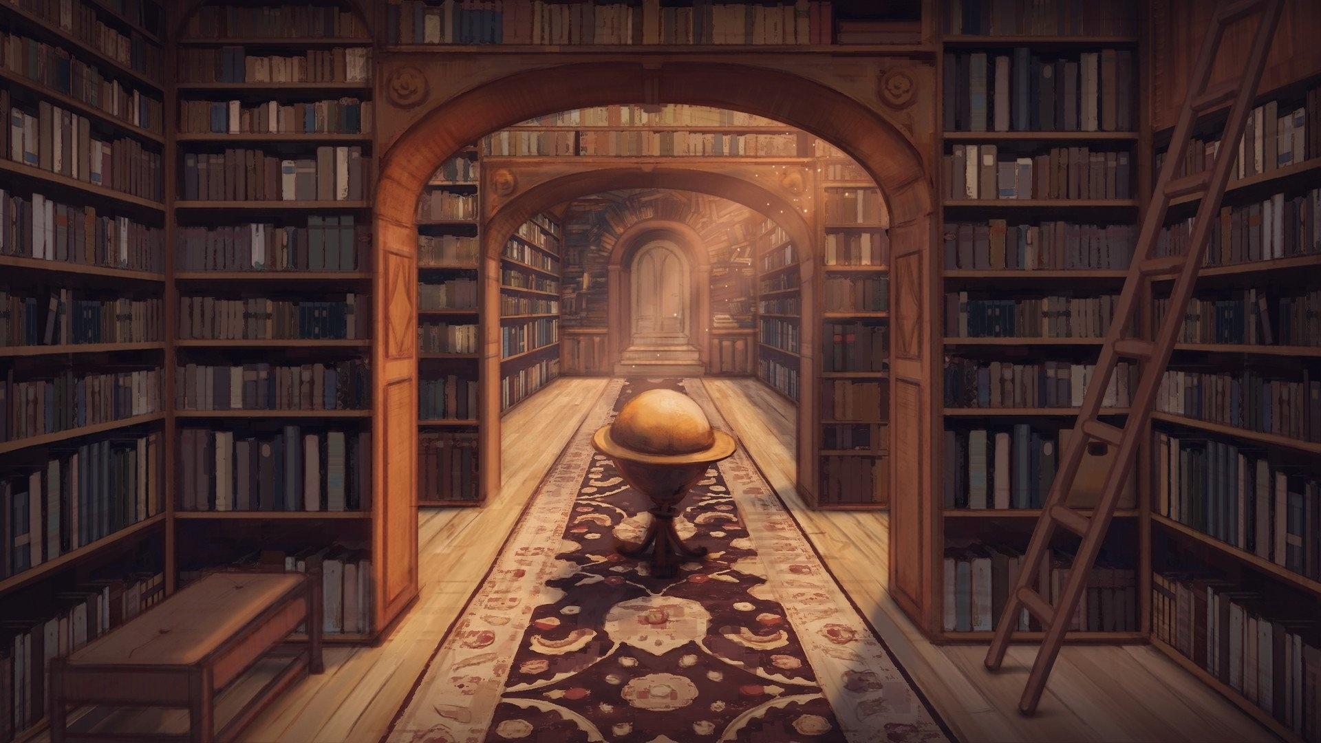 Library Wallpaper image hd
