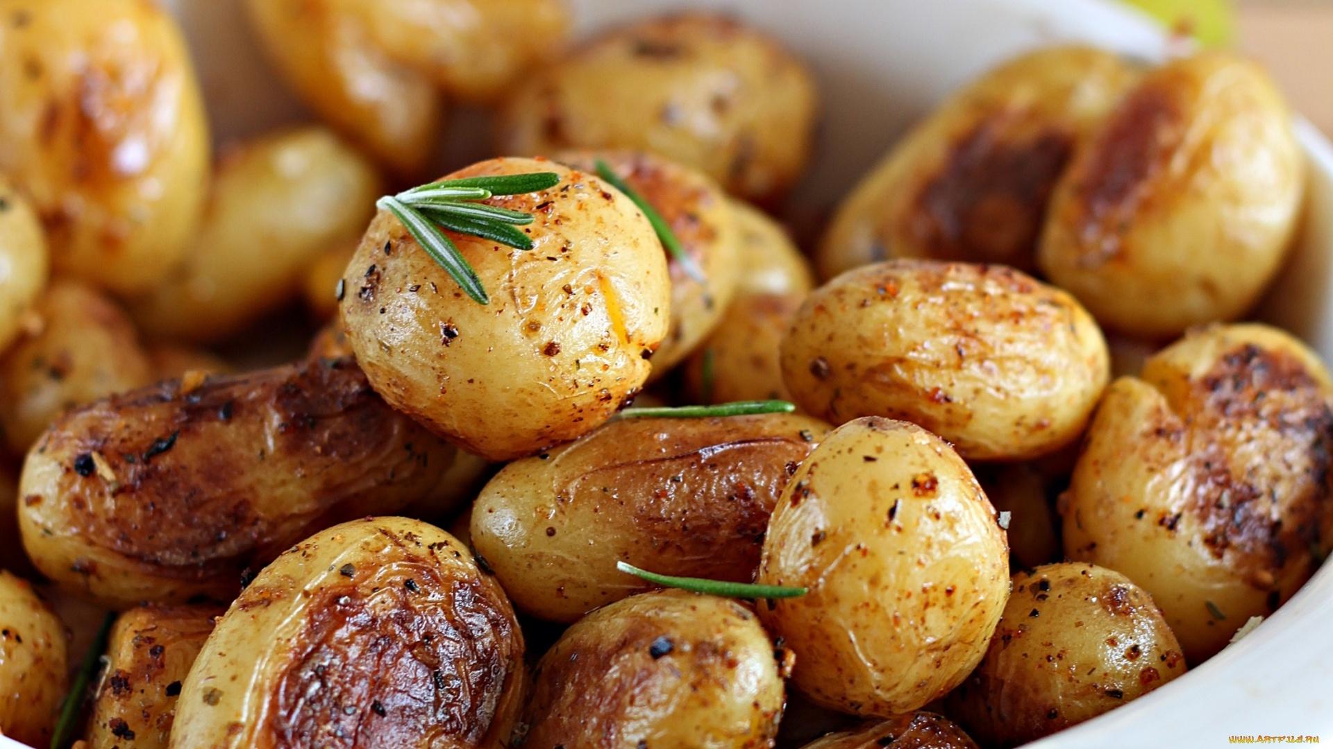 Potatoes Full HD Wallpaper