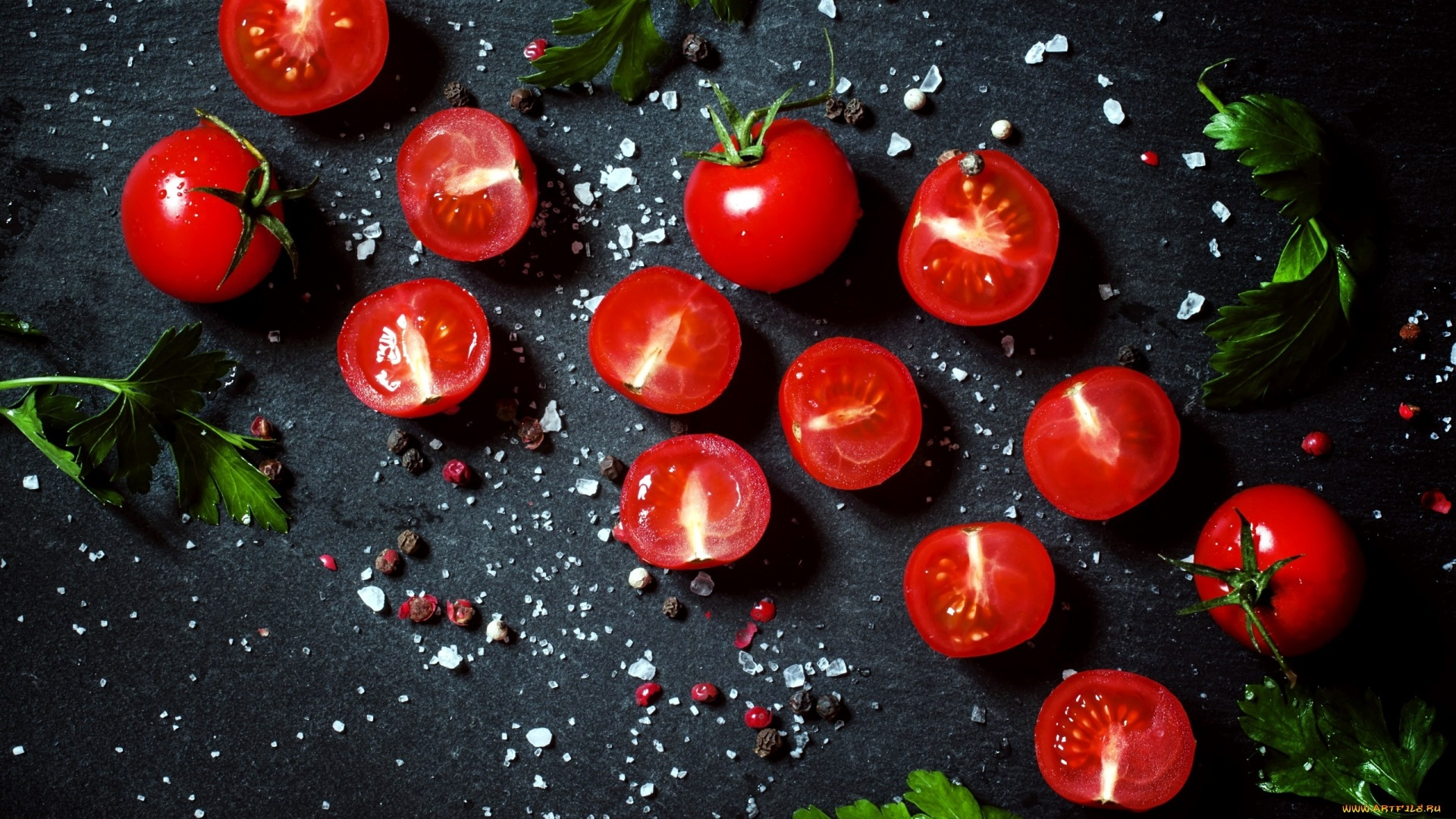 Tomatoes PC Wallpaper