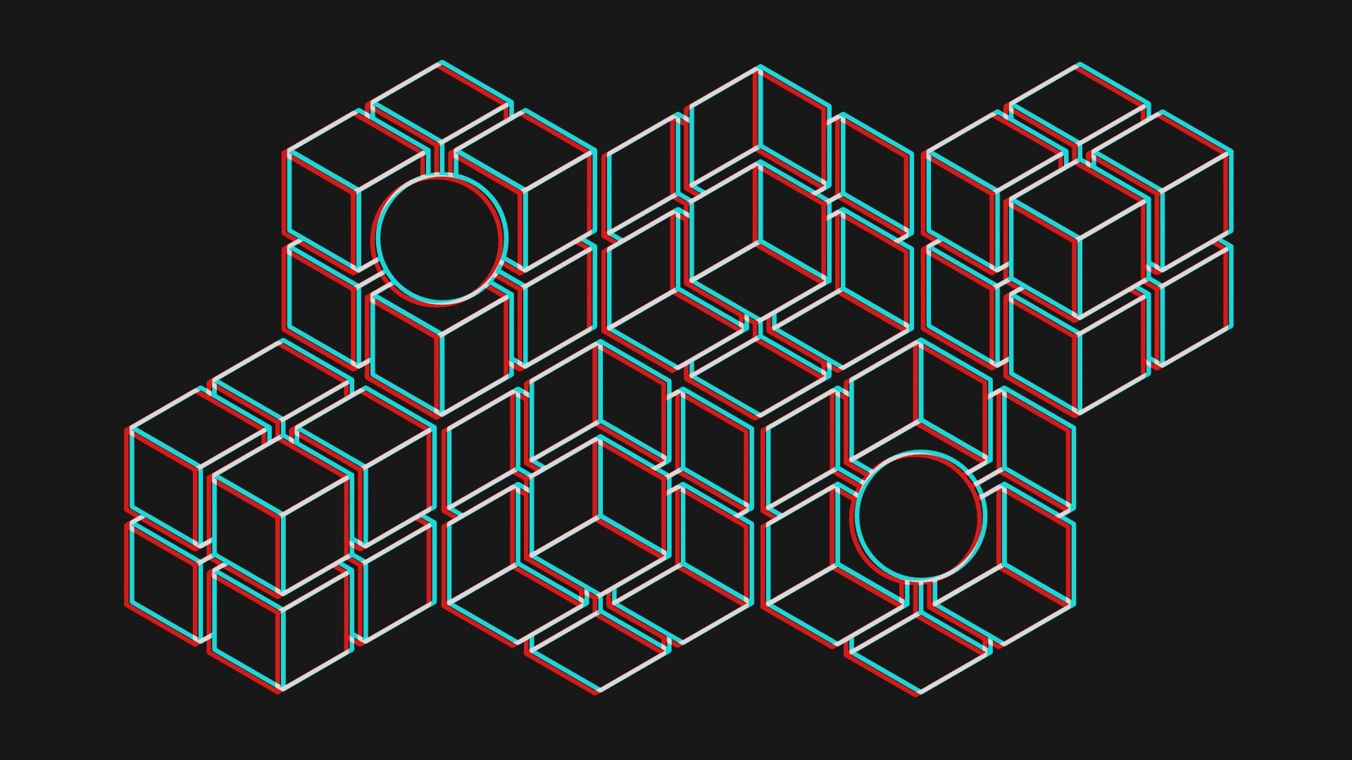 3d Minimalist Wallpaper theme