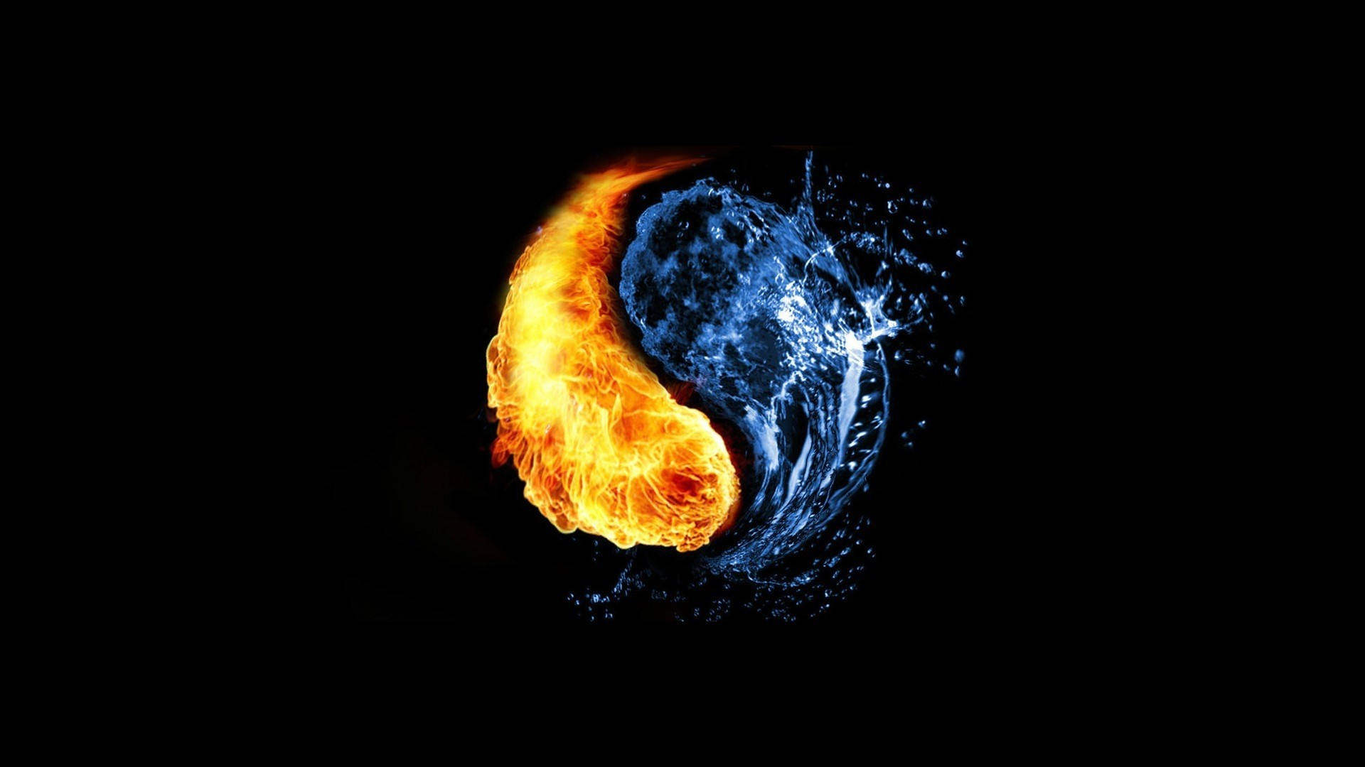 Fire And Ice wallpaper photo hd