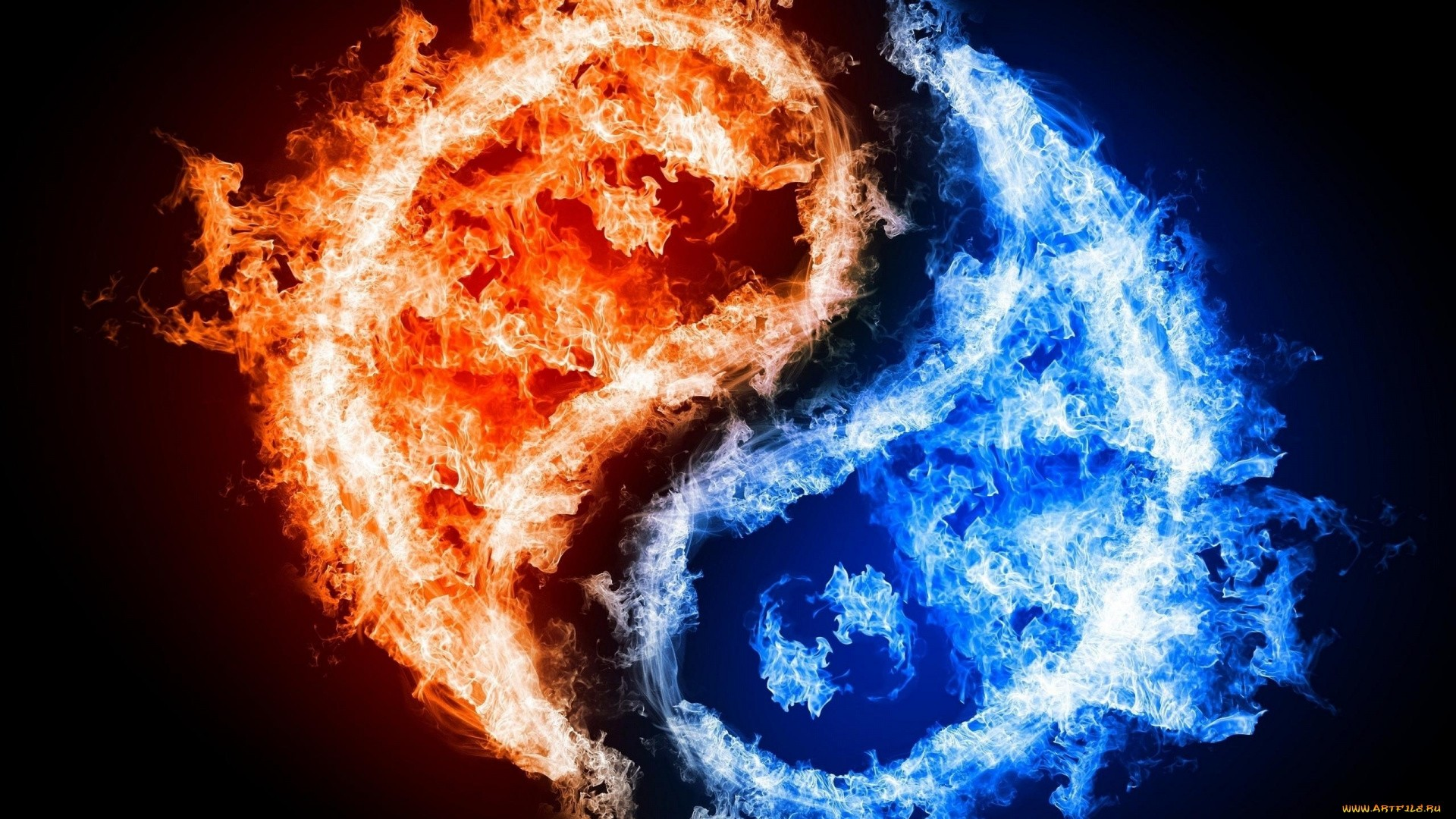 Fire And Ice Wallpaper