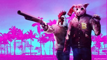 Hotline Miami Wallpaper theme