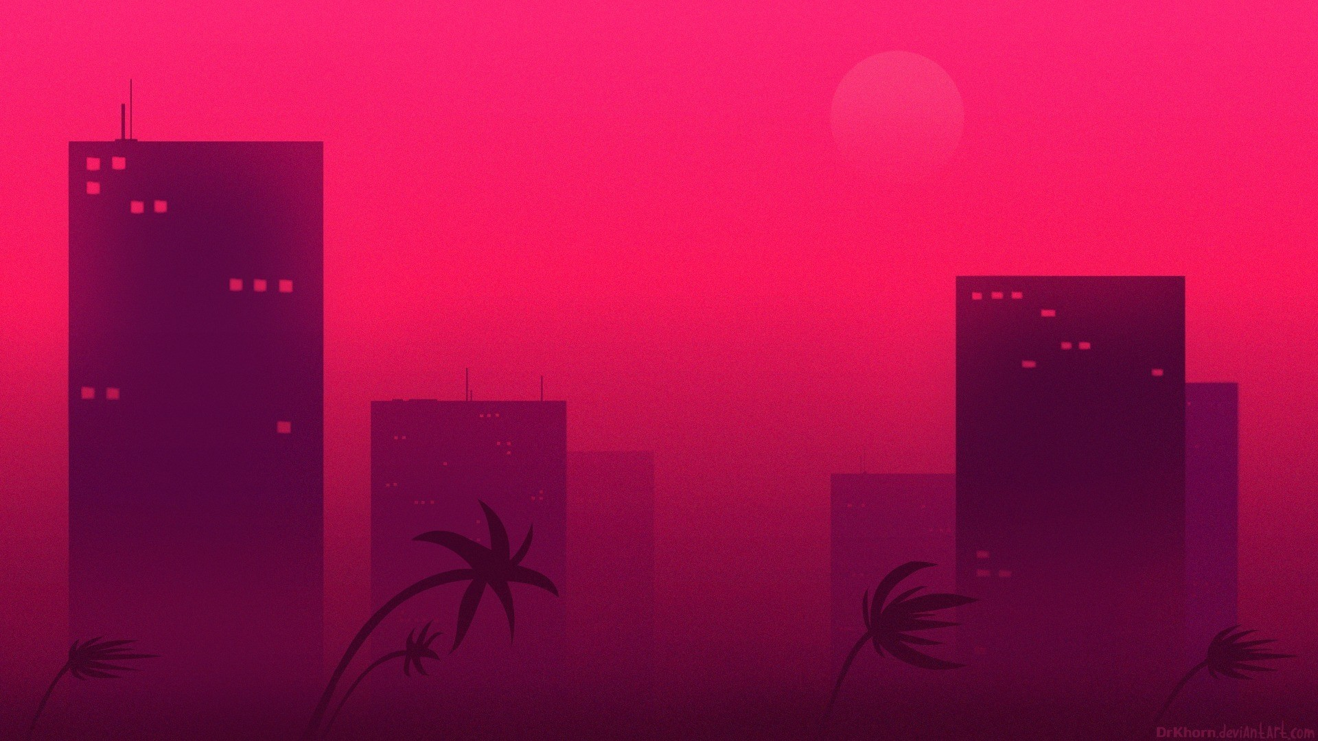 Hotline Miami Desktop Wallpaper