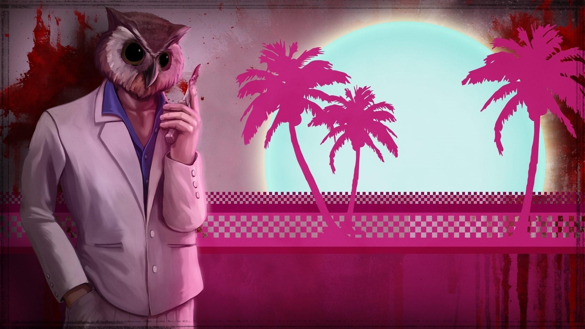 Hotline Miami computer wallpaper
