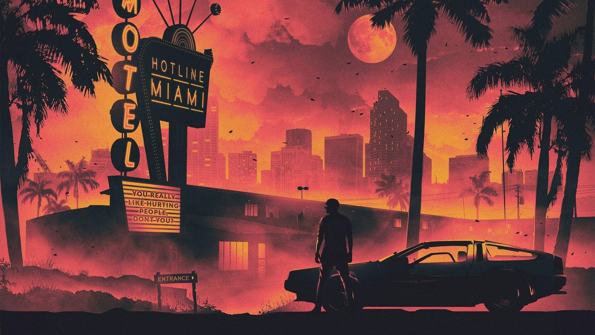 Hotline Miami Wallpaper for pc