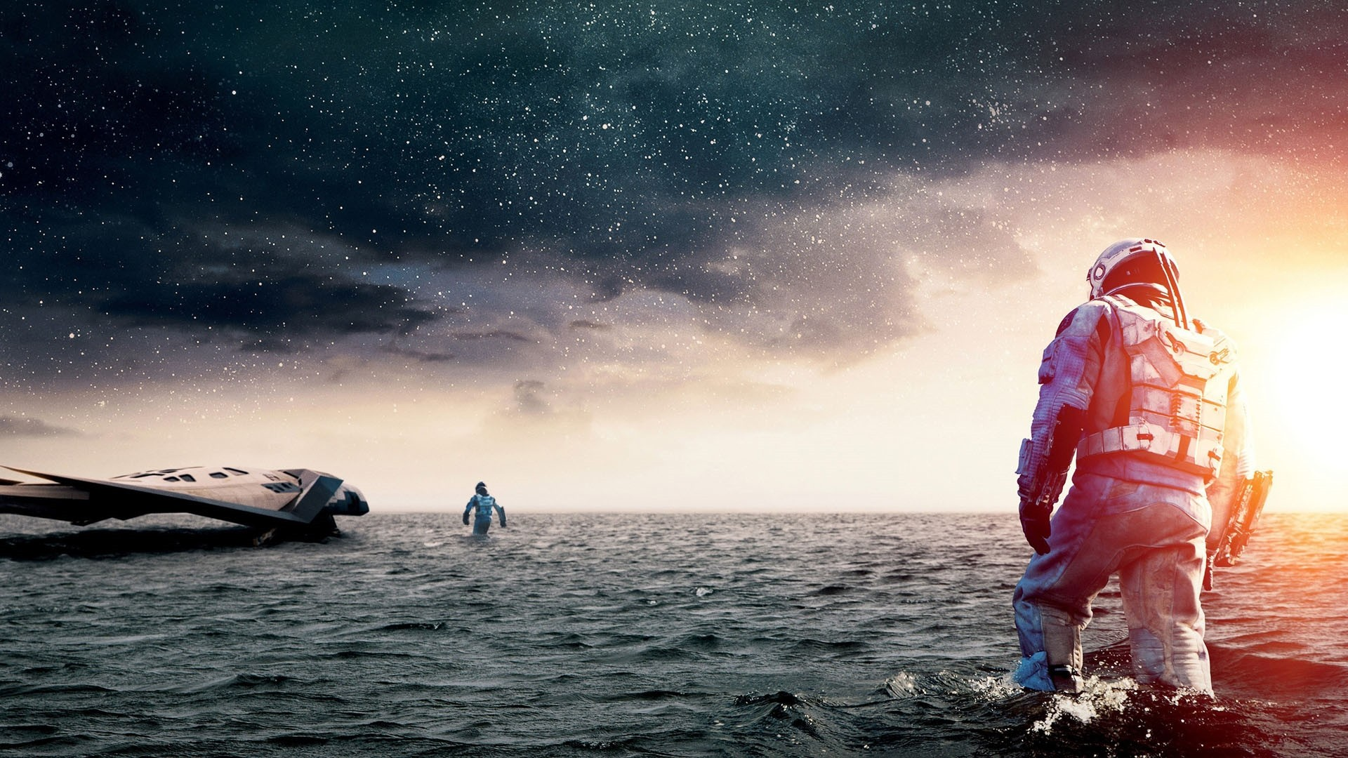 Interstellar Desktop wallpaper